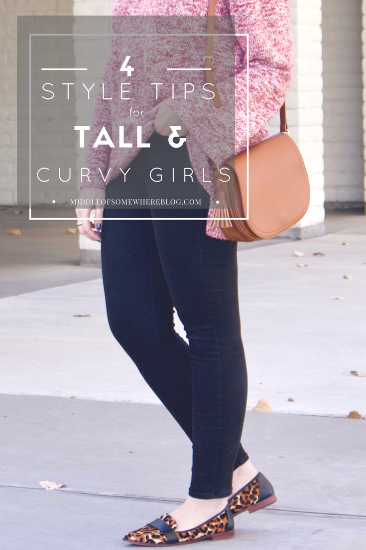 style tips for tall and curvy girls, #curvy #tallfashion #womensfashion #momstyle