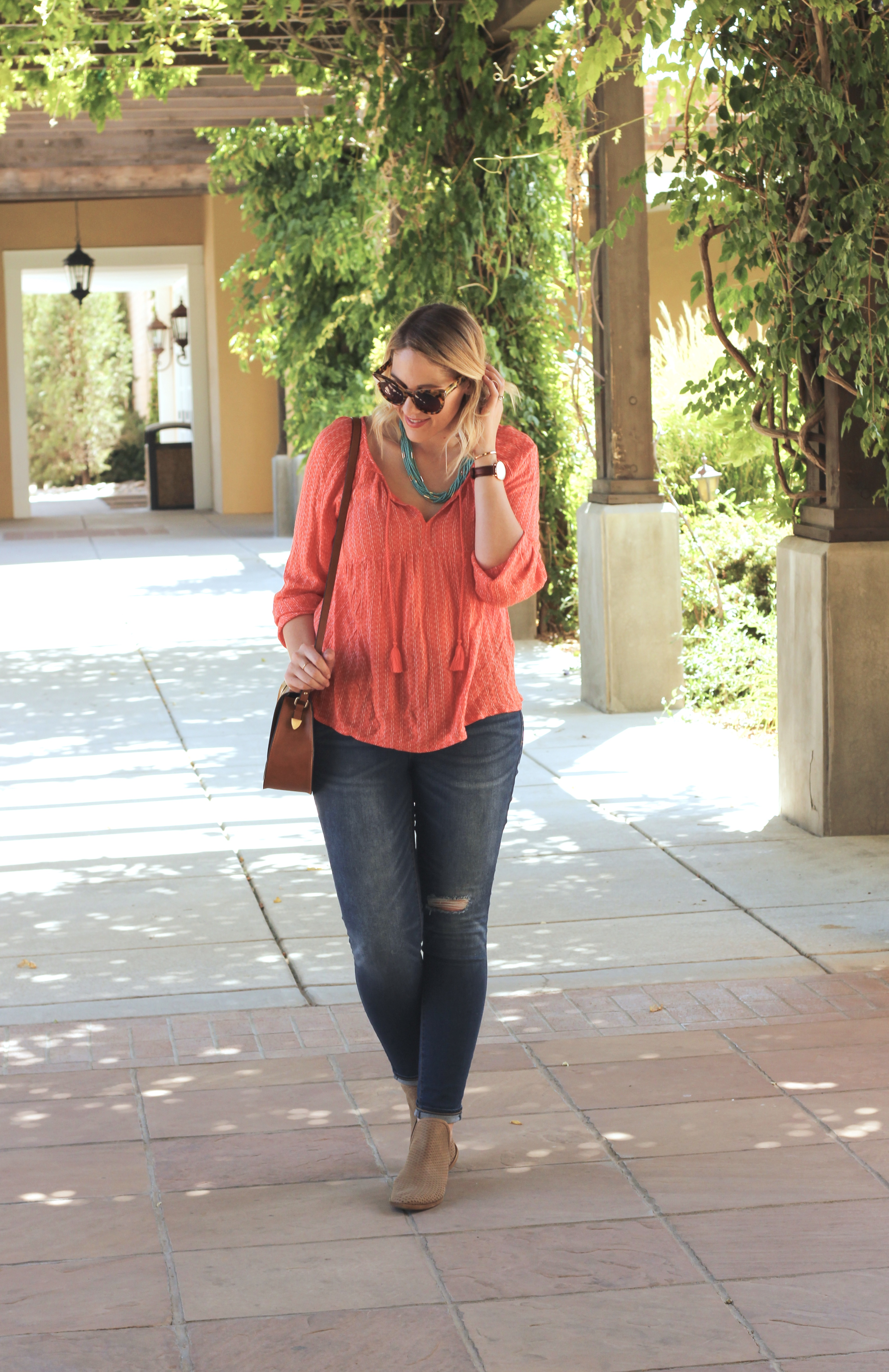 cute old navy outfit southwest inspired #oldnavystyle #newmexicostyle #momstyle