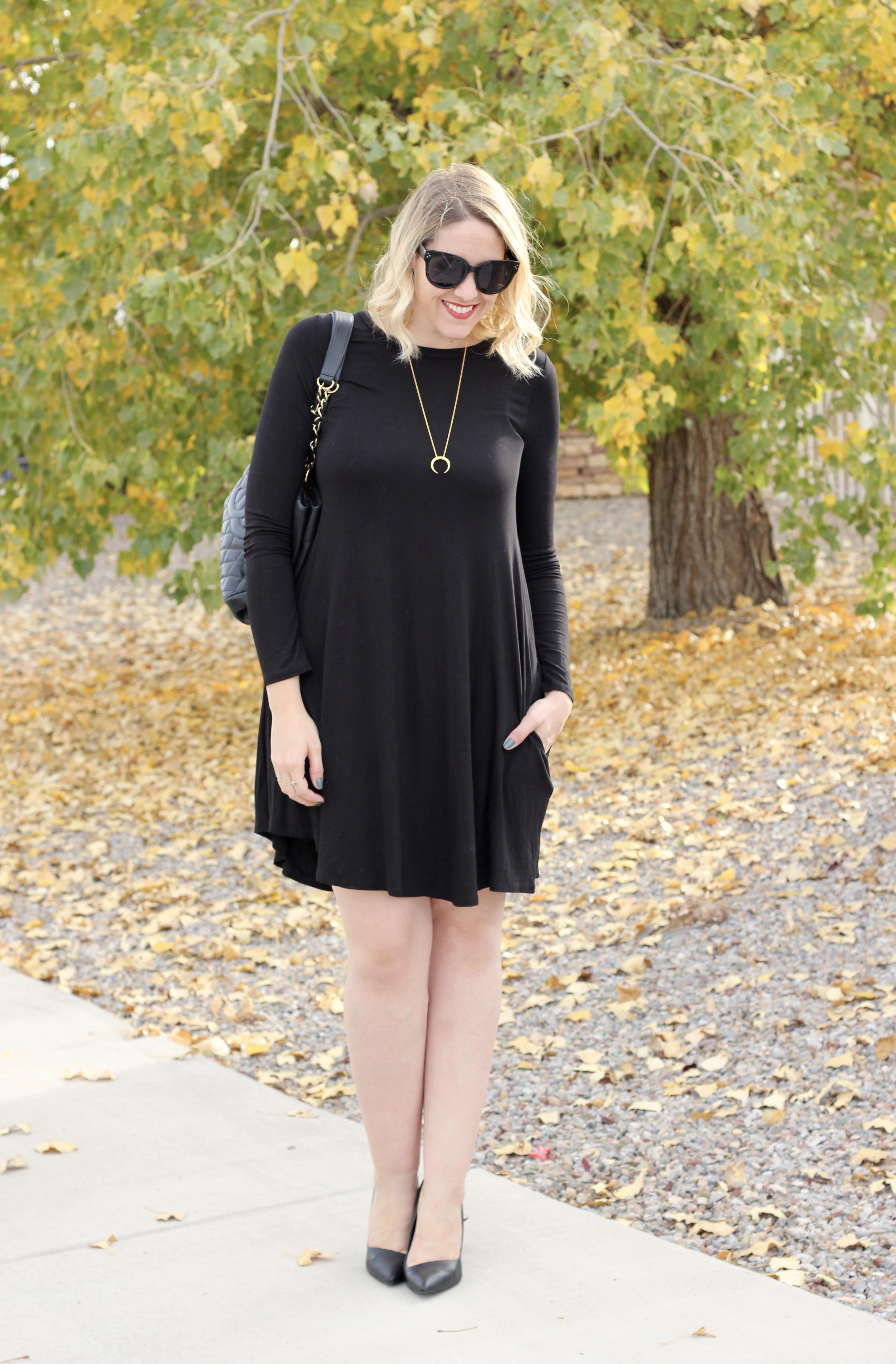 black dress for tall girls #blackdress #lbd #littleblackdress