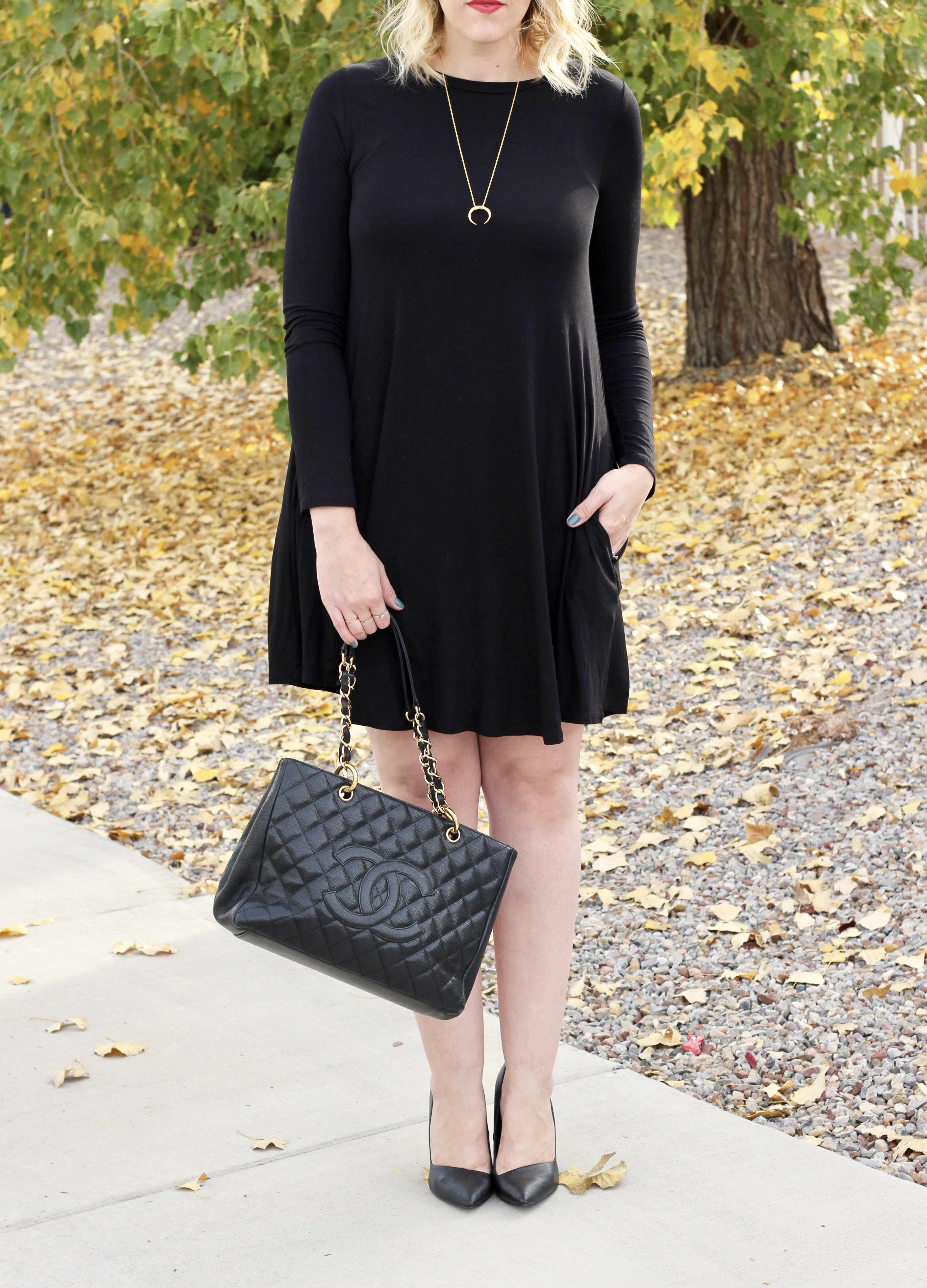Chanel GST and a LBD #lbd #chanelgst #chanel