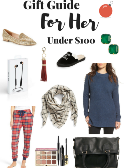 Holiday Gift Guide: For Her Under $100