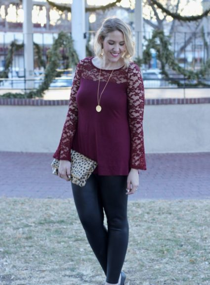 Lace Bell Sleeves for The Holidays
