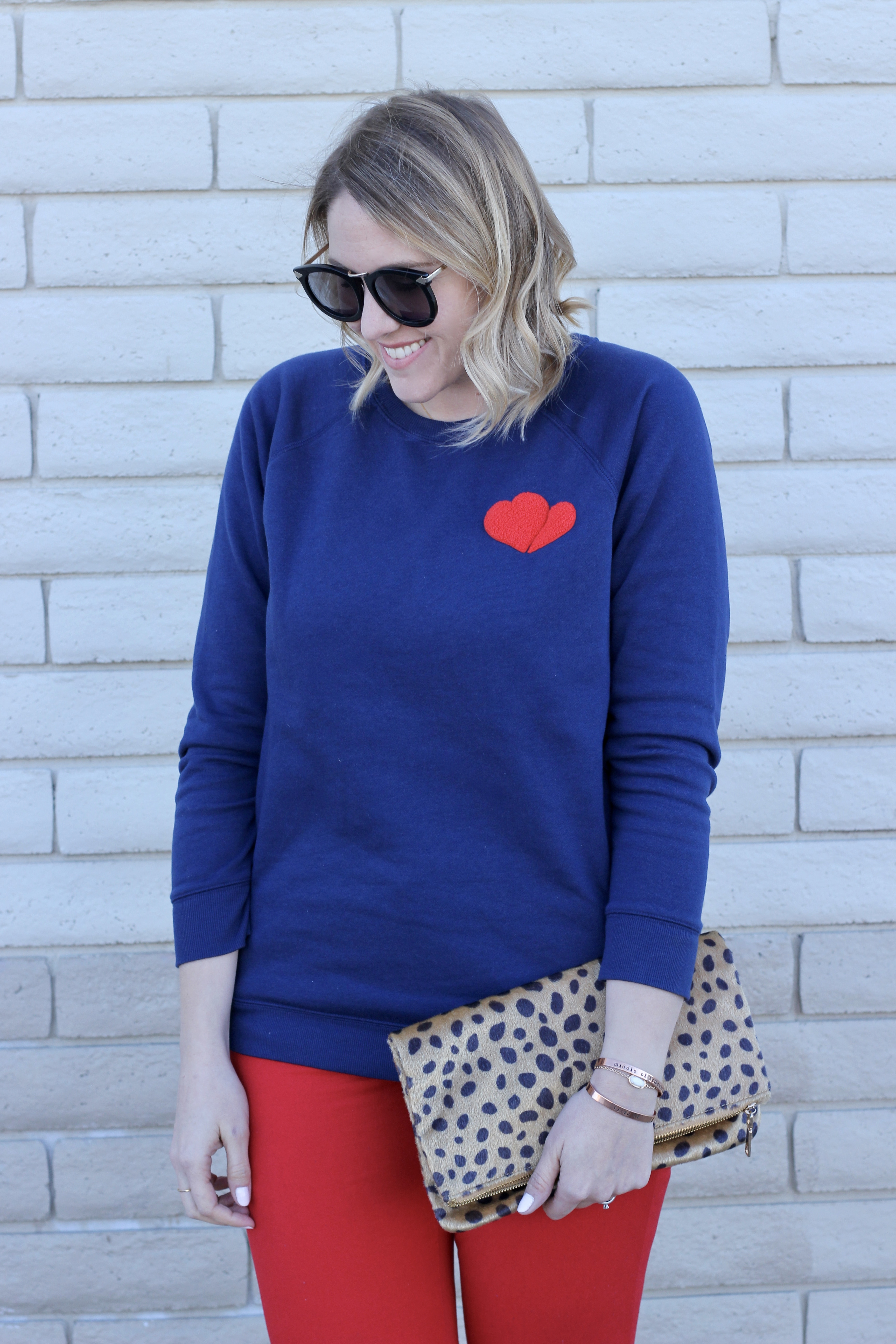 easy valentines day outfit #oldnavystyle #valentinesdaystyle