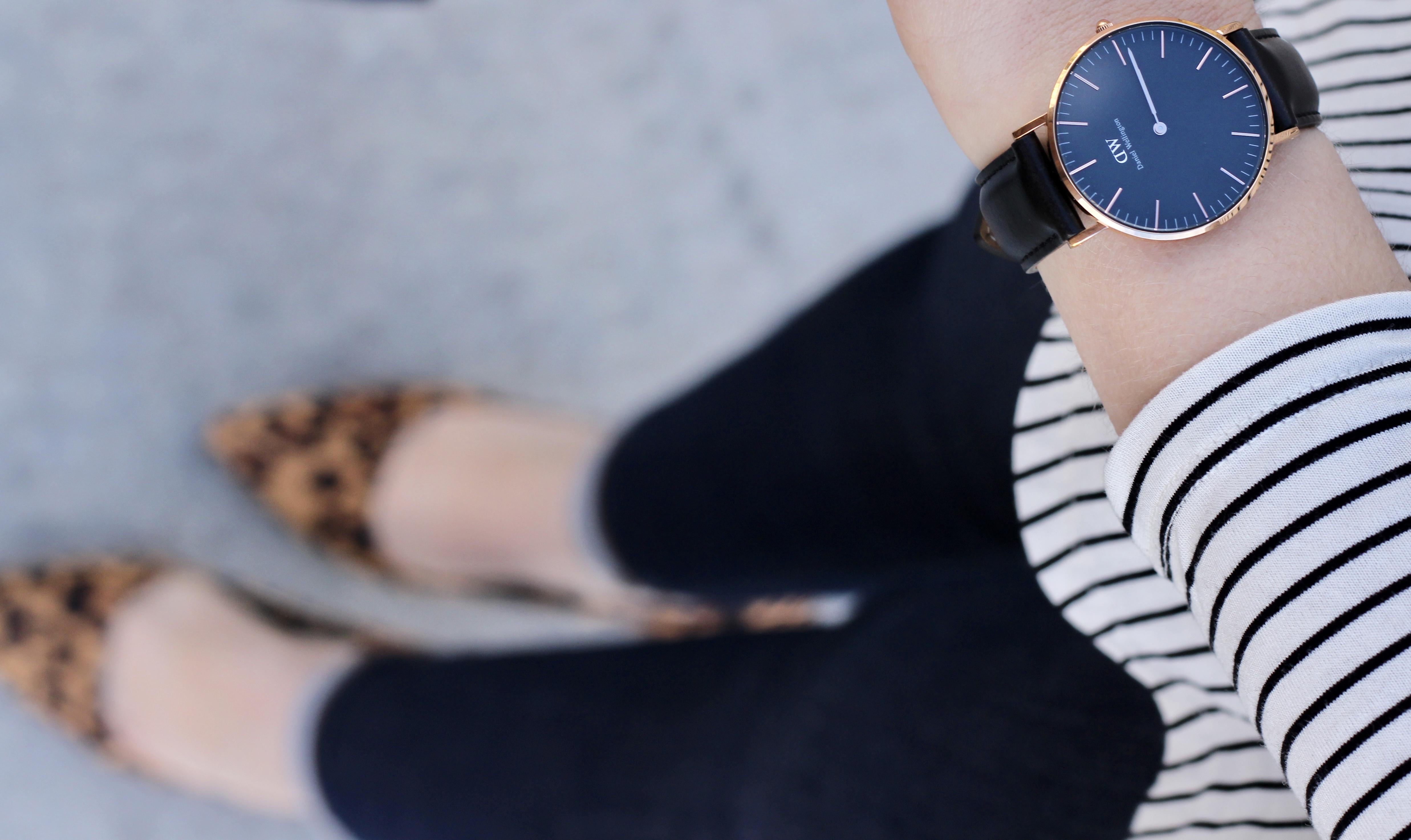 daniel wellington classic black watch