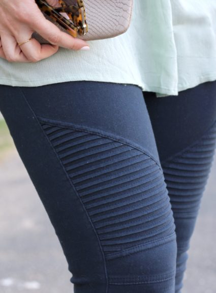 Moto Jeggings & Lace + The Weekly Style Edit Link Up