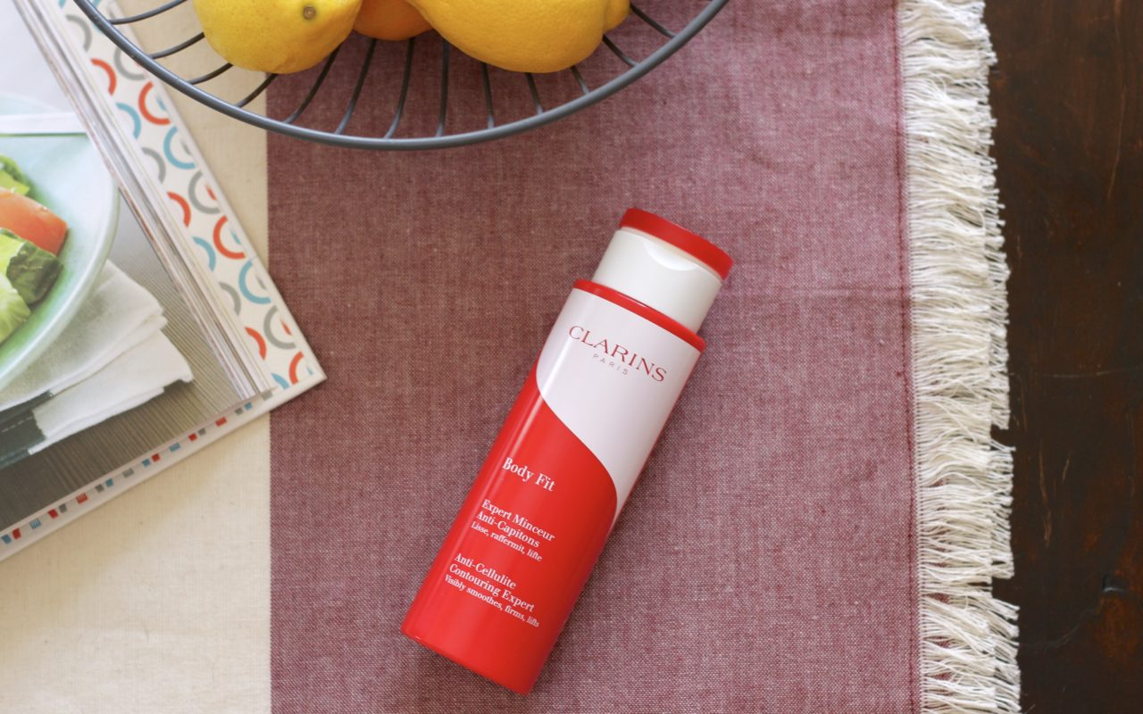 Smoother skin with less cellulite with Clarins Body Fit Gel