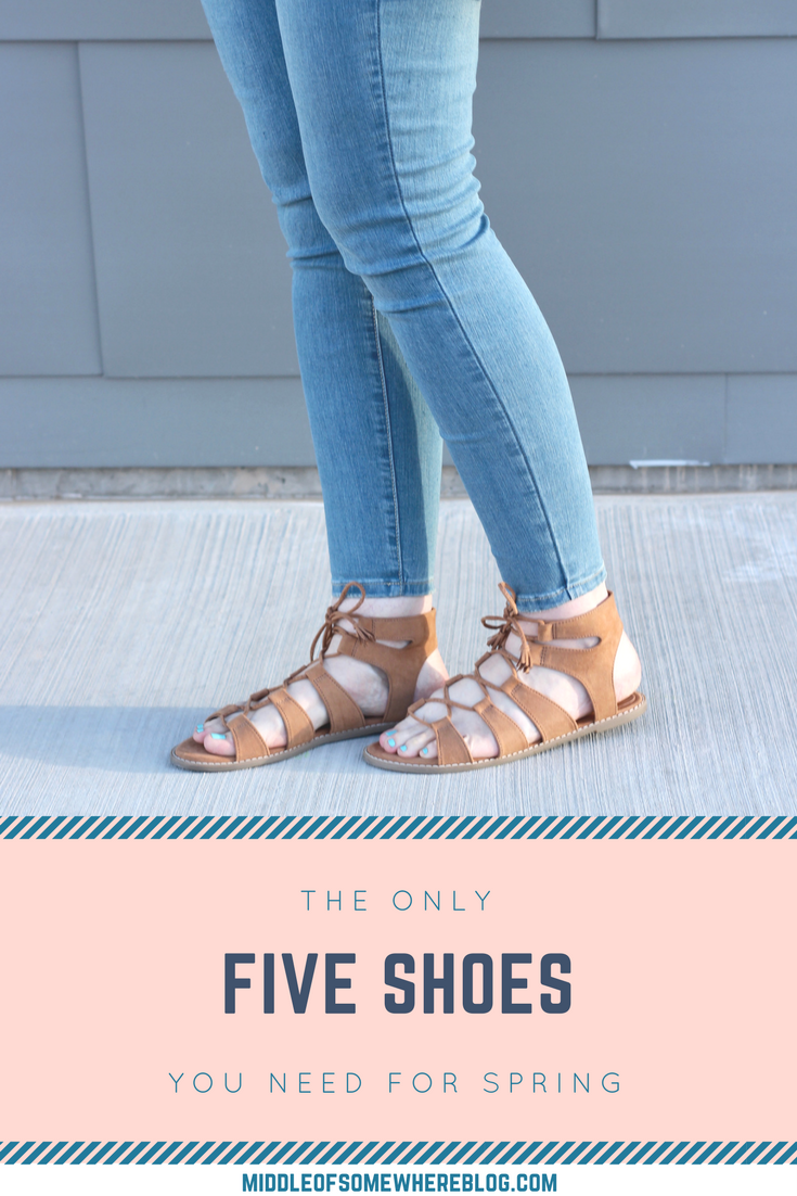 the only 5 shoes you need for spring