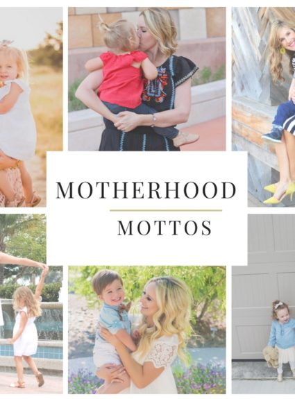 Motherhood Mottos + Mommy & Me Giveaway