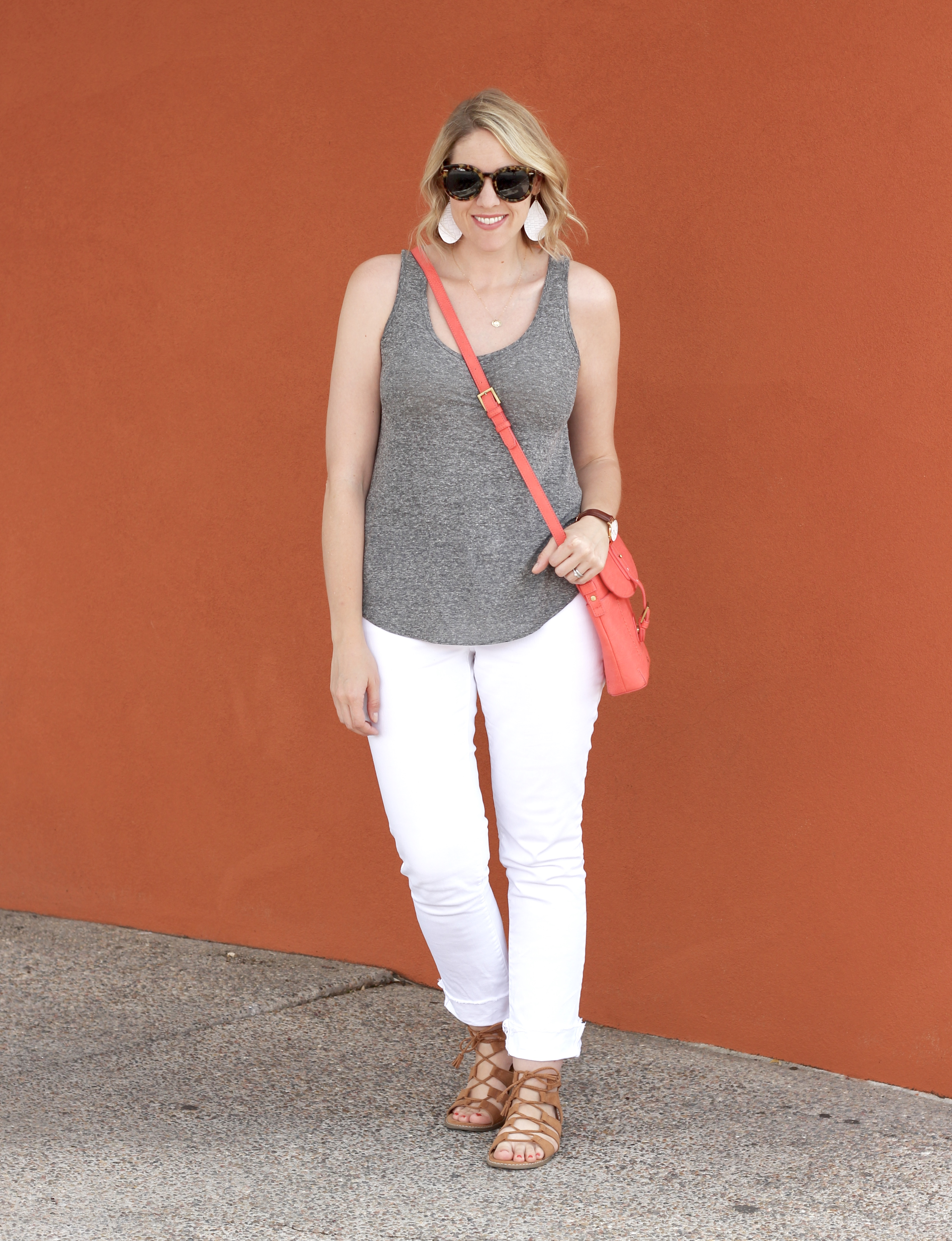 white jeans for summer