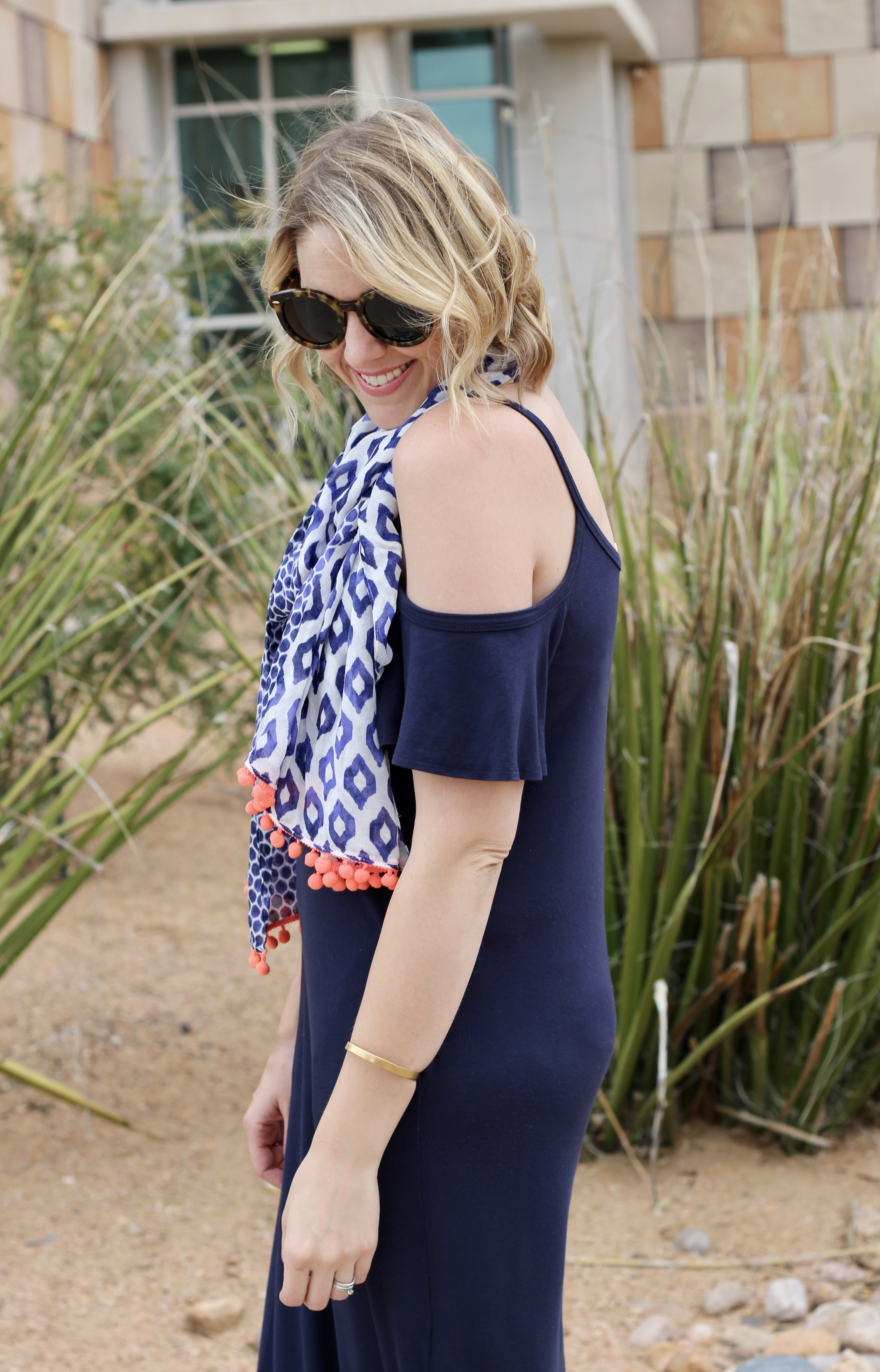 cold shoulder dress for summer