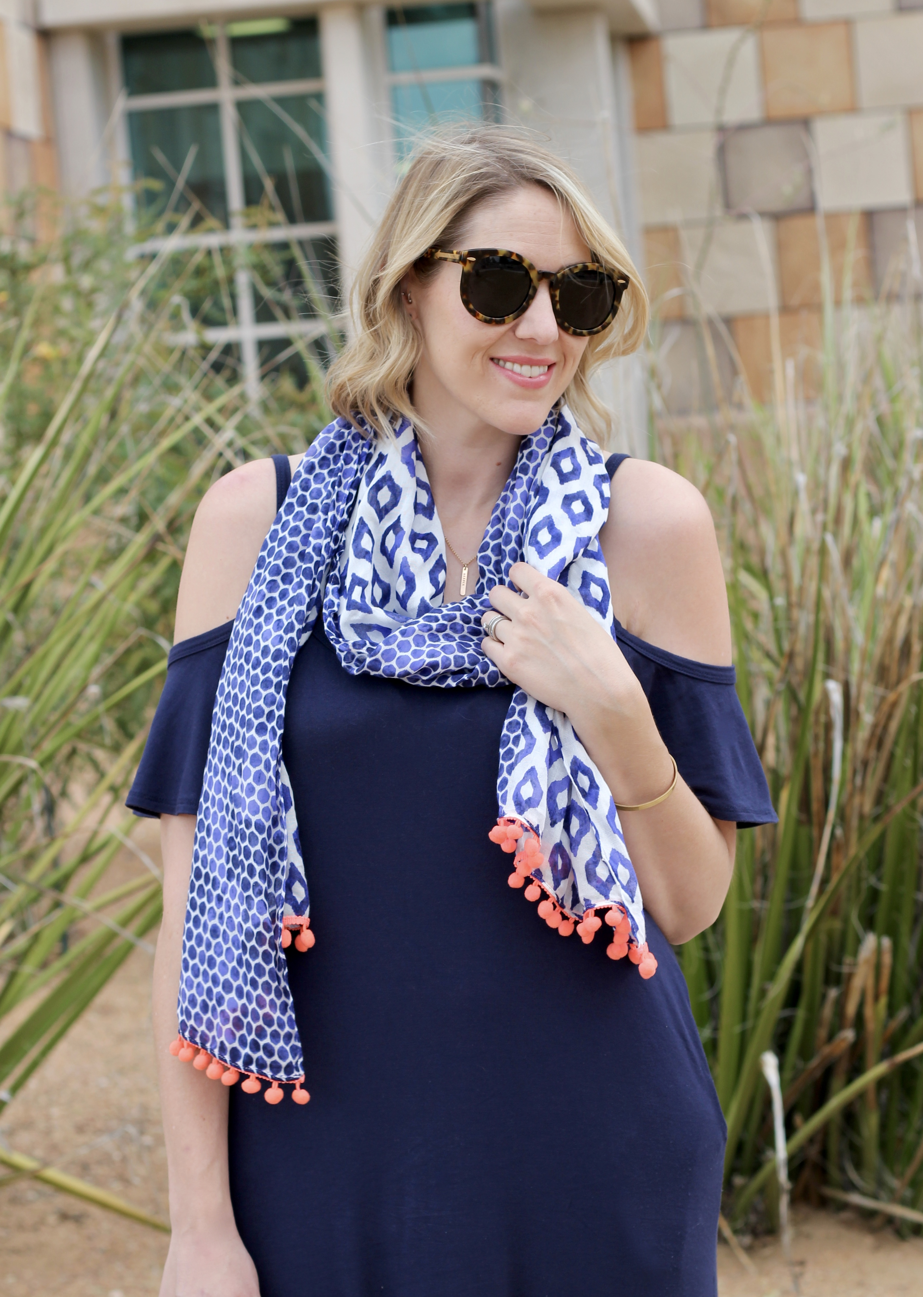 colorful scarf for summer