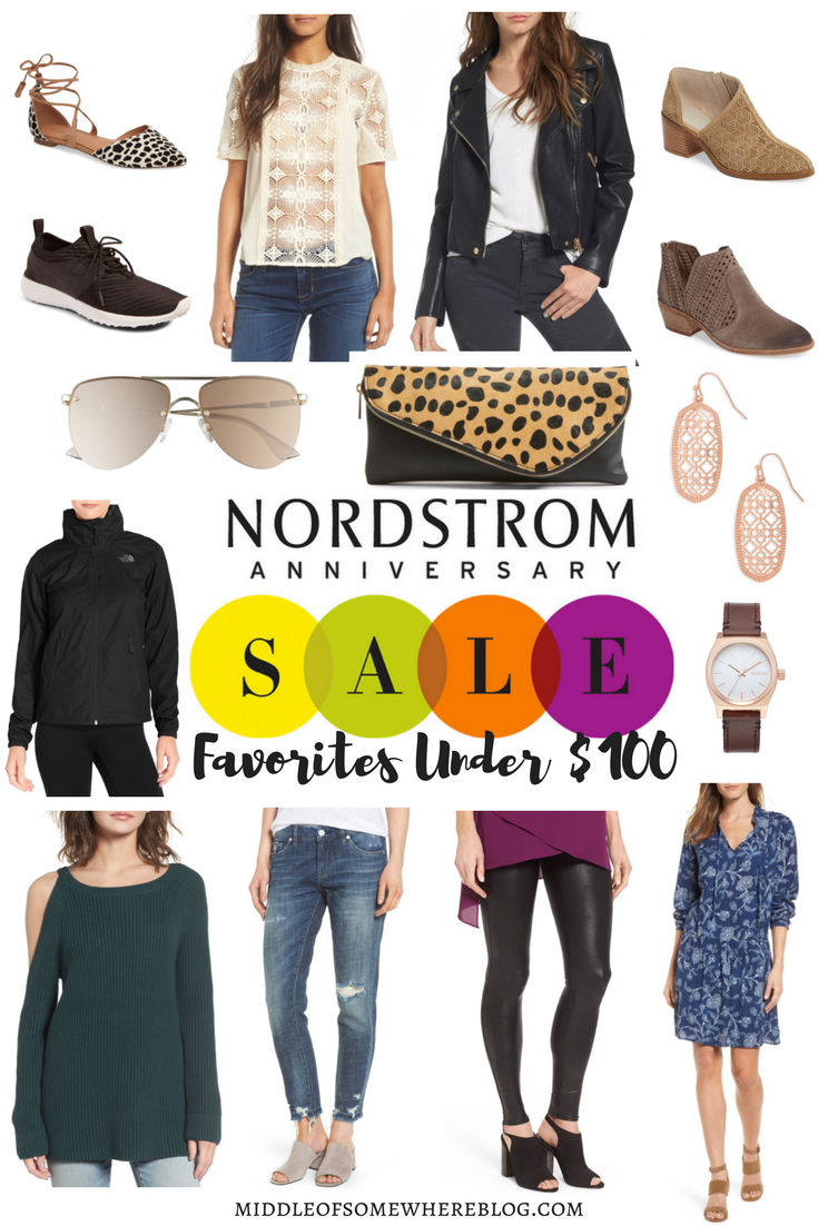 Nordstrom Anniversary Sale under 100 for 2017