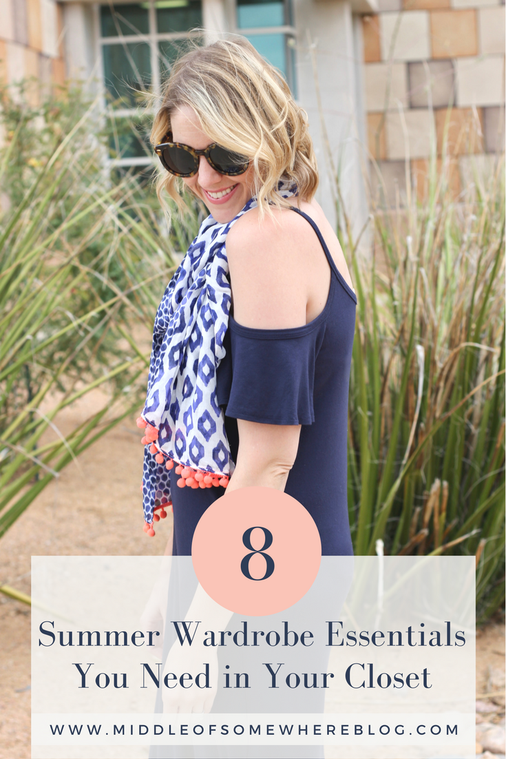 8 summer wardrobe essentials for women