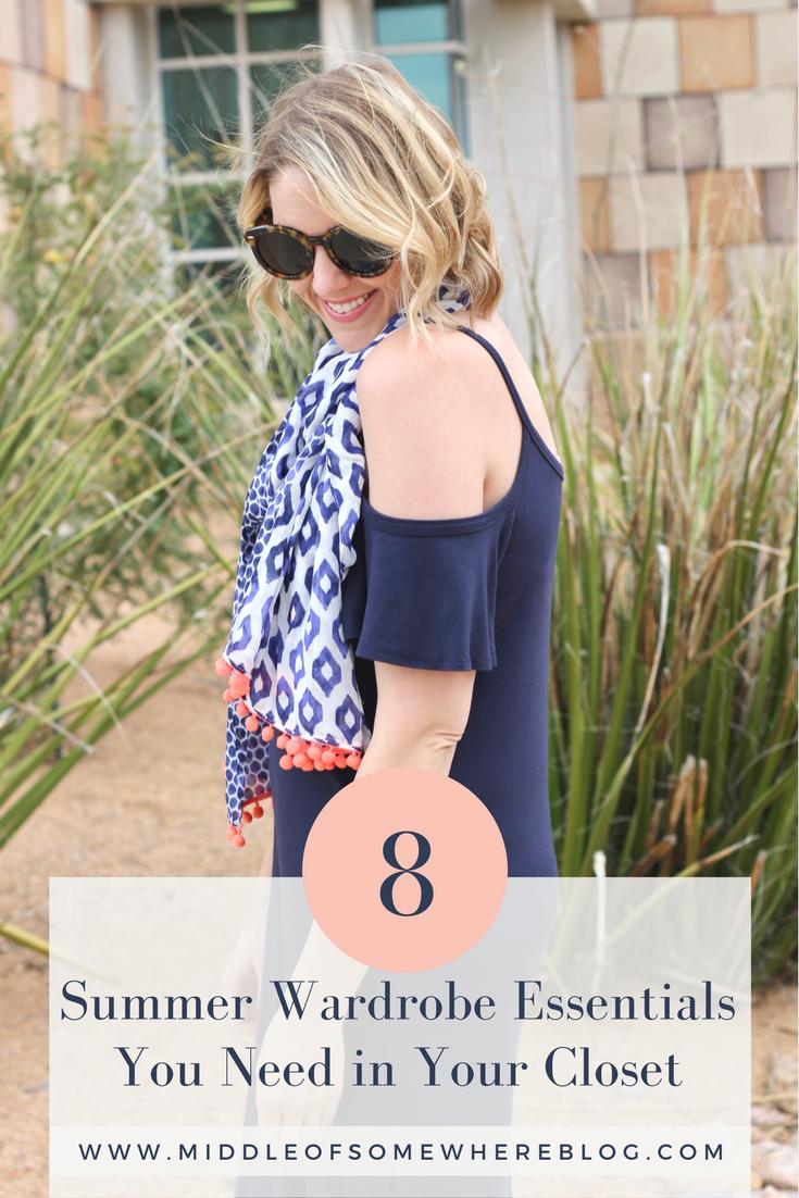 8 summer wardrobe essentials for women