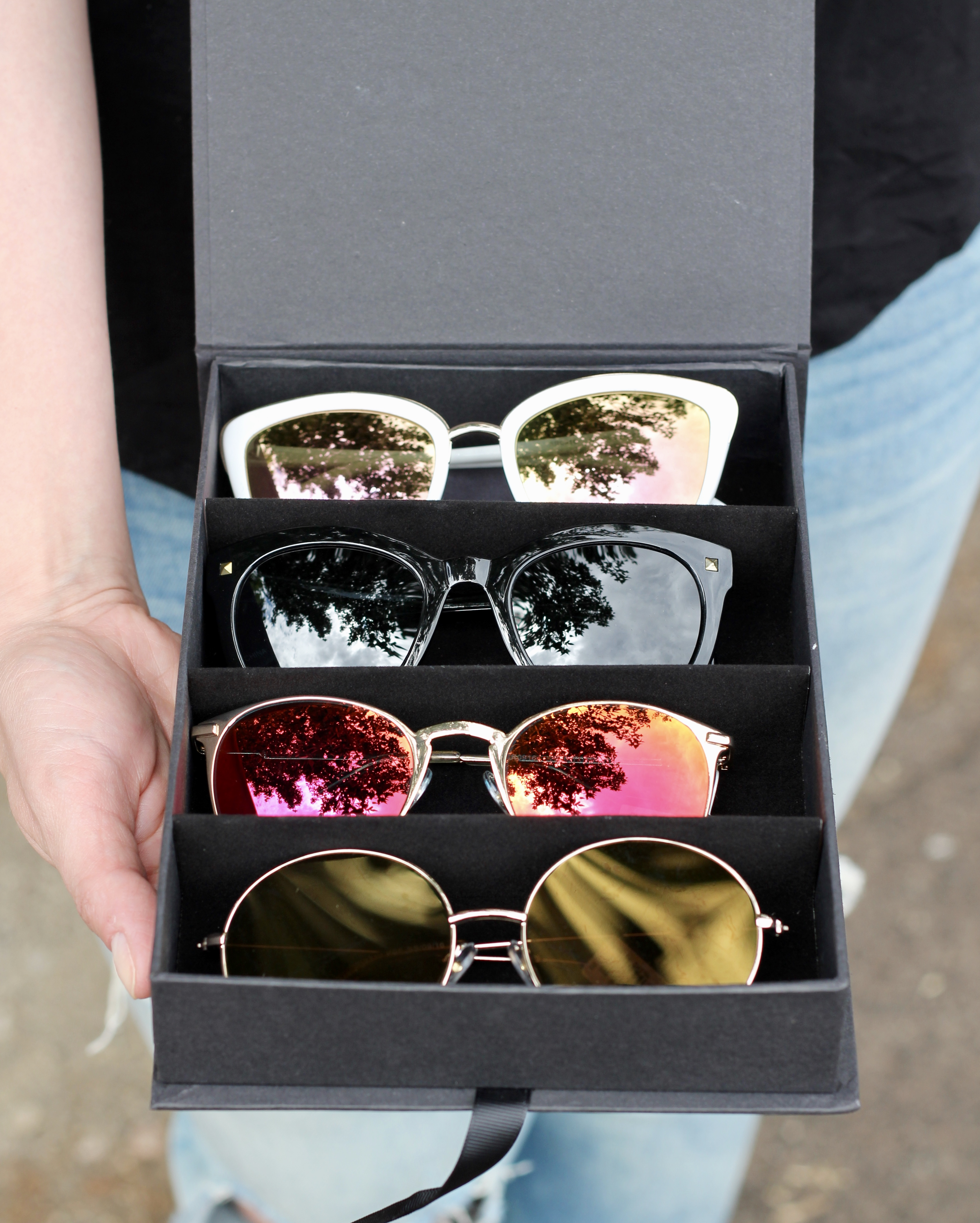 how to find your signature sunglasses