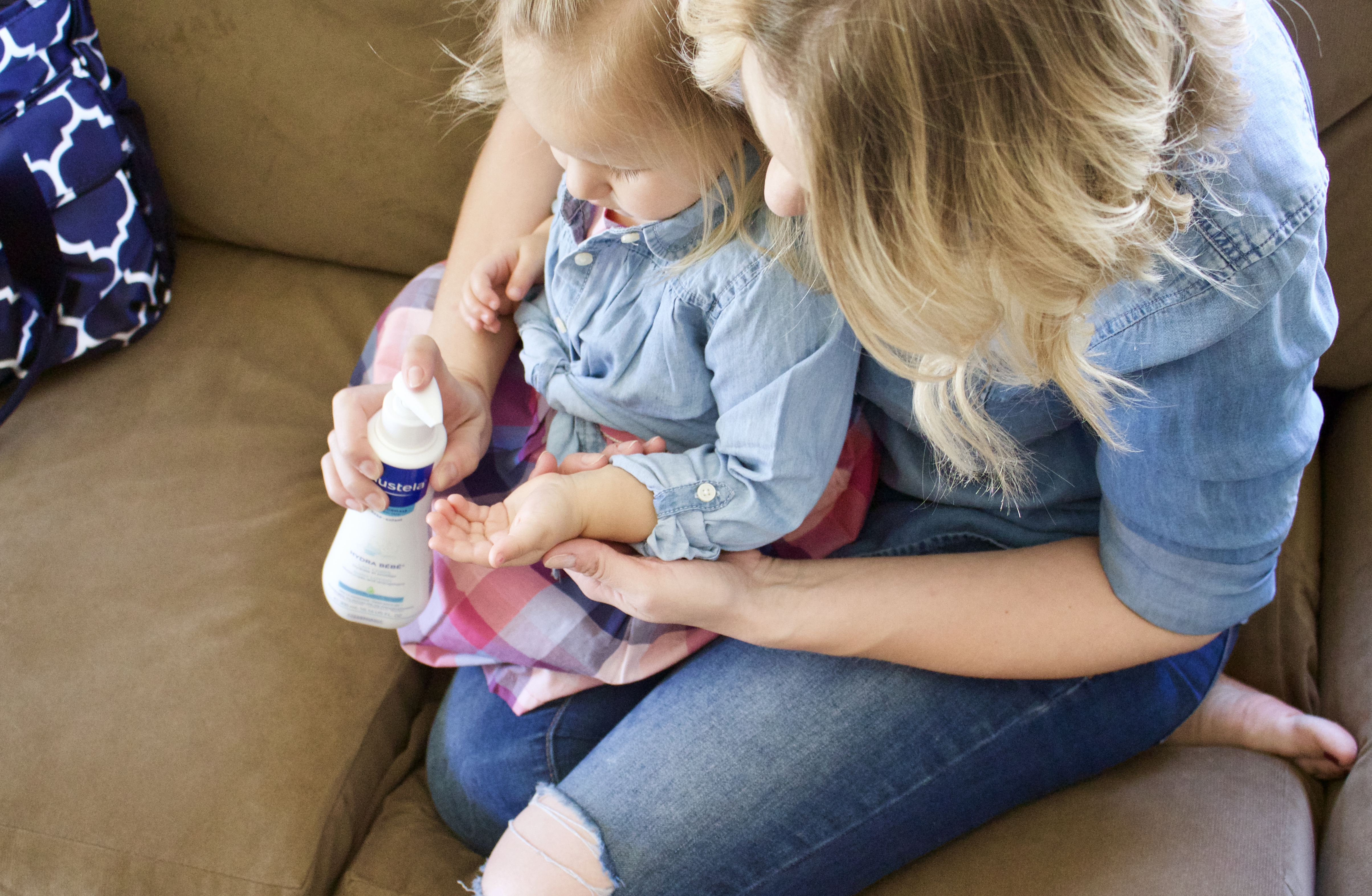 Mustela baby lotion review