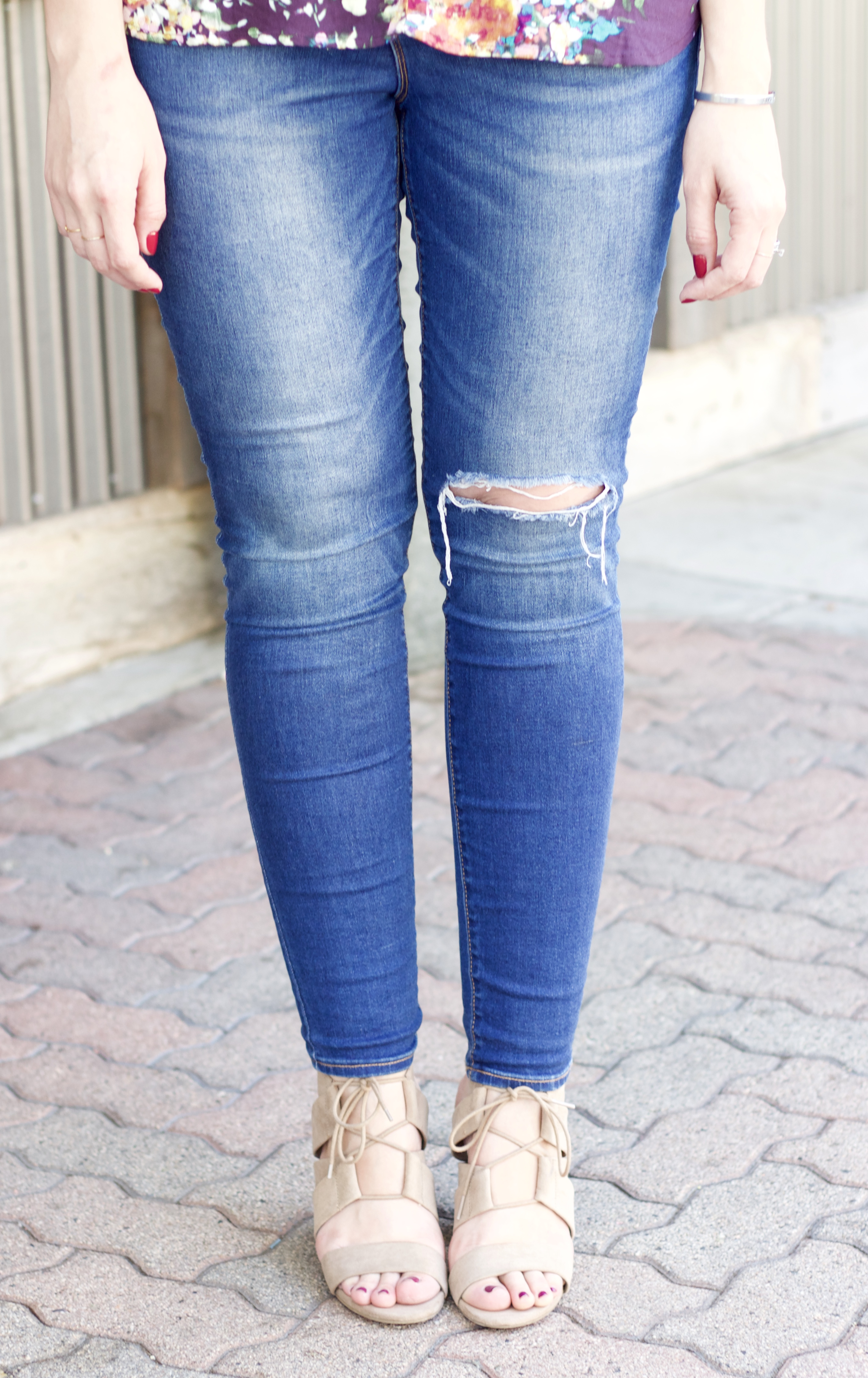 old navy rockstar best distressed jeans