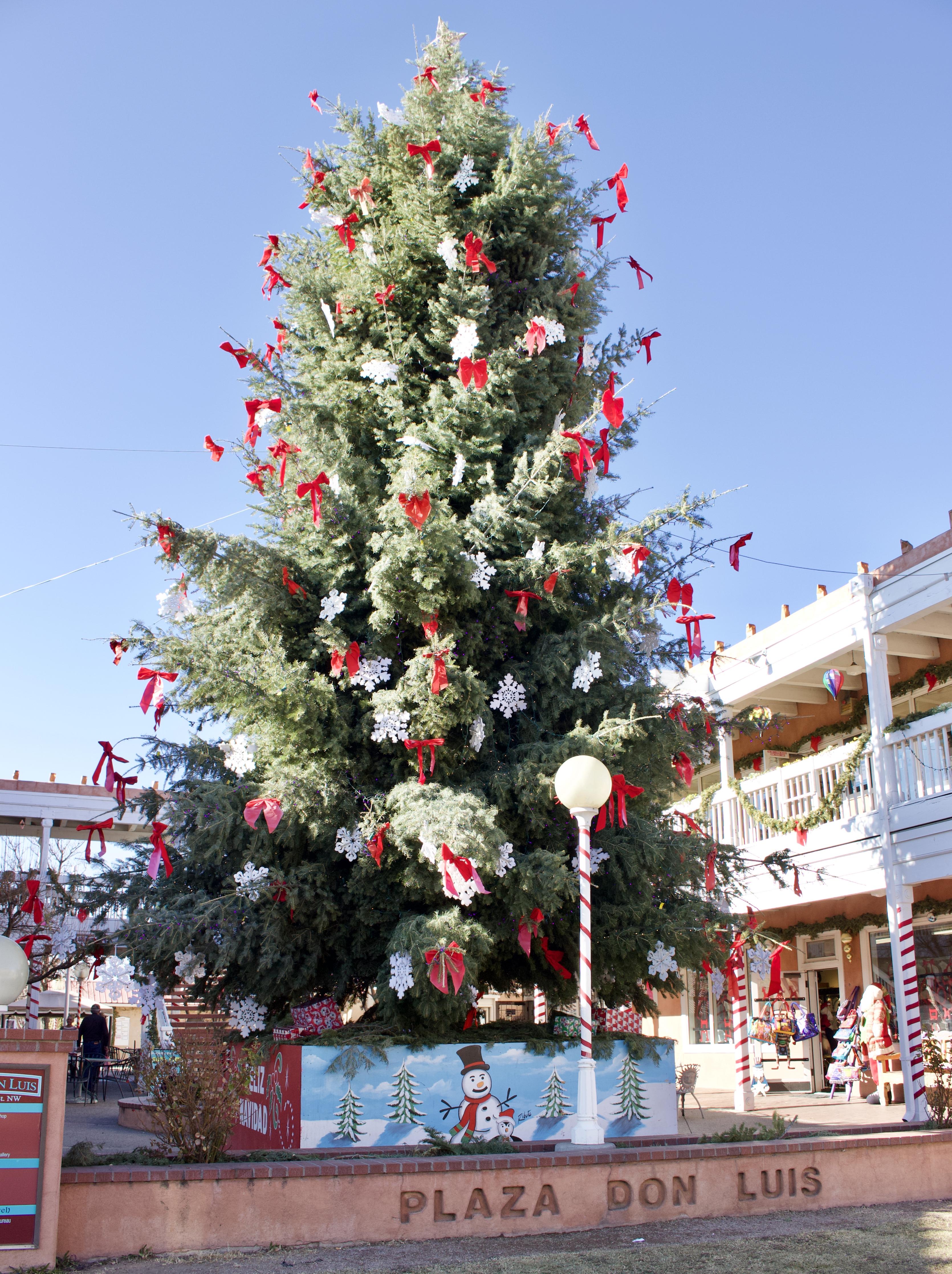 old town albuquerque christmas