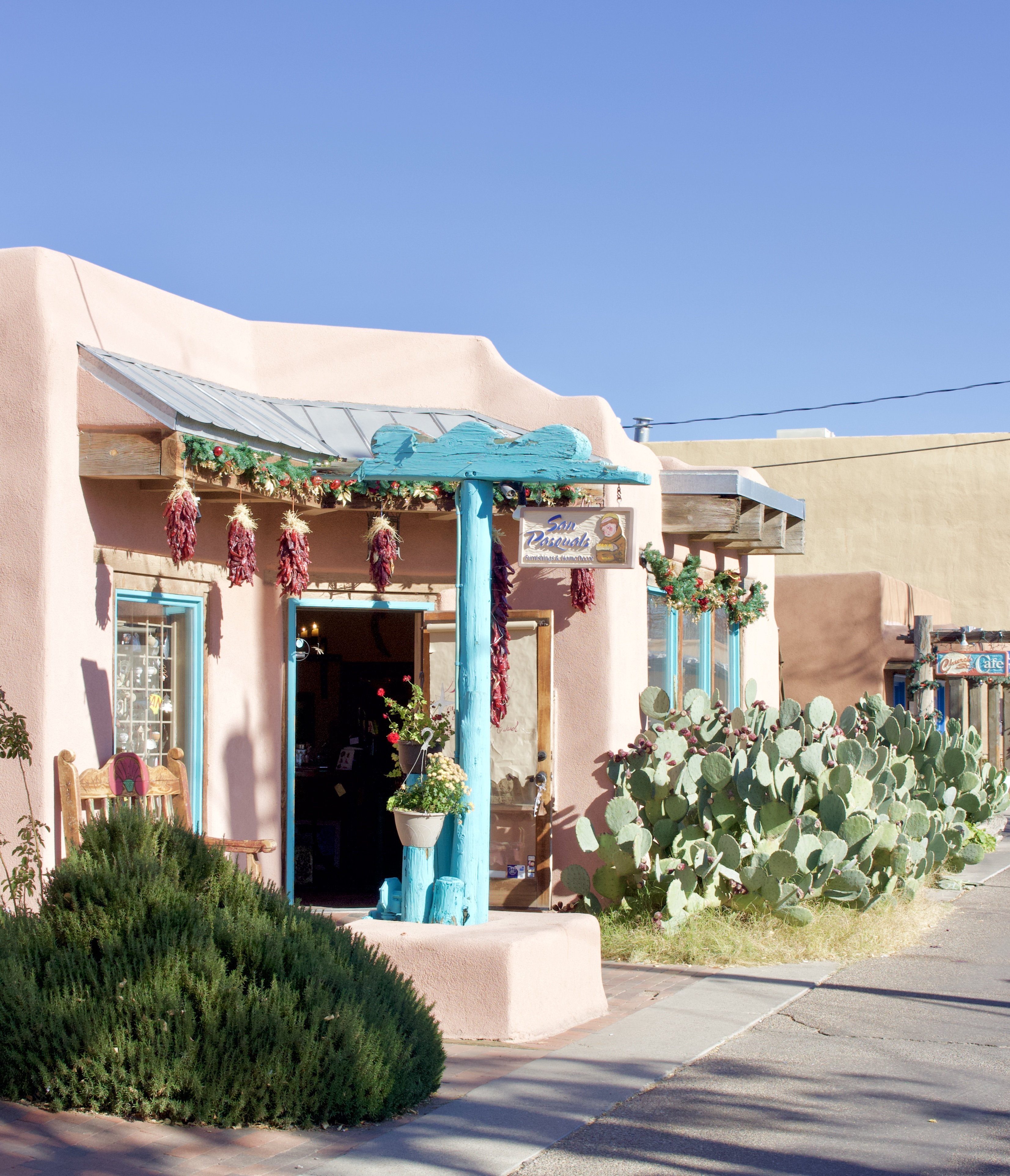 holidays in old town albuquerque