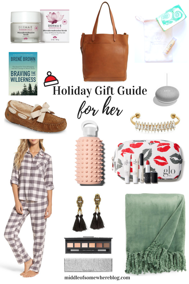 gift guide for her 2017