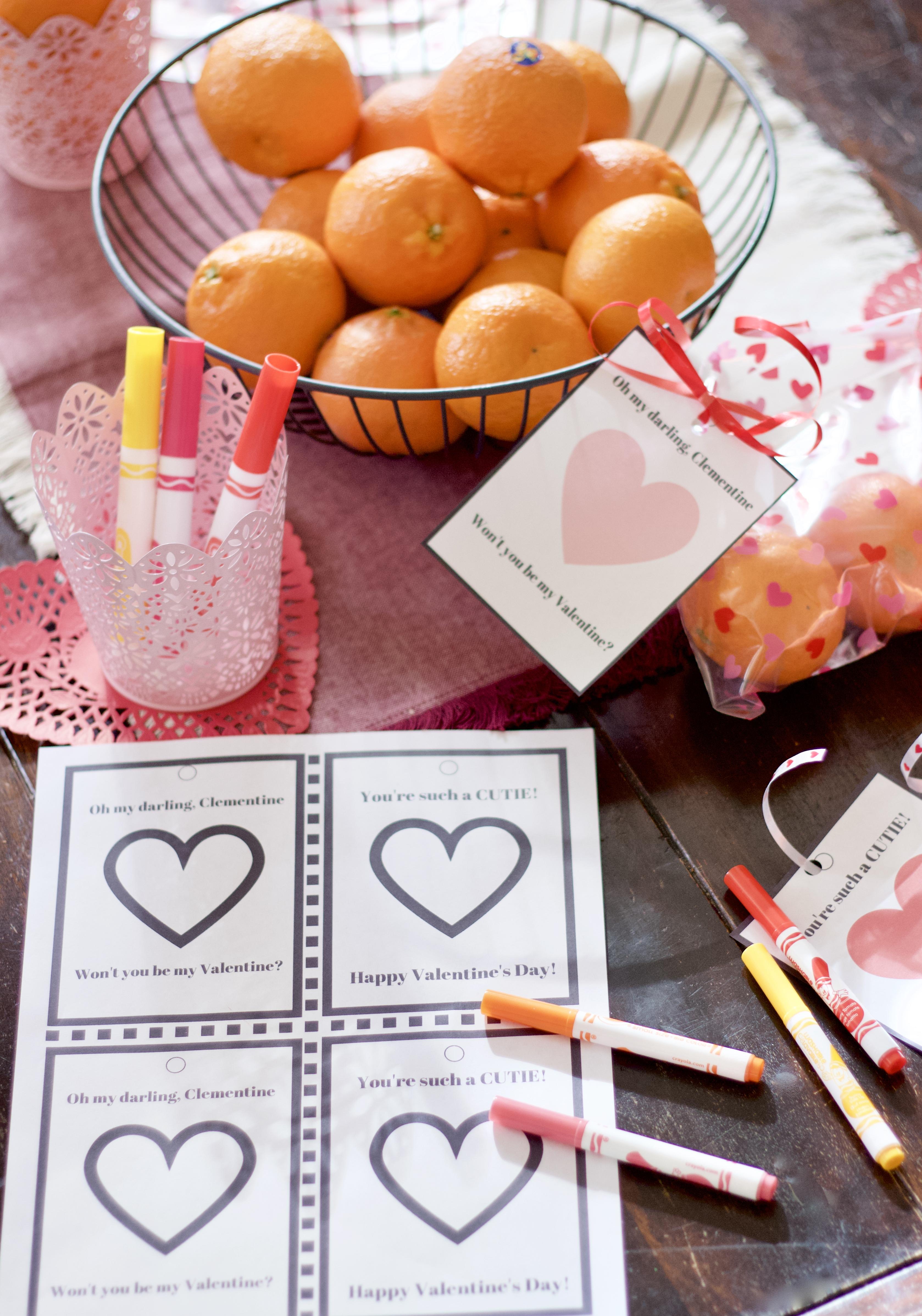healthy DIY valentine for kids, cuties #100daysofsunshine, #DIYvalentine, #healthyvalentine