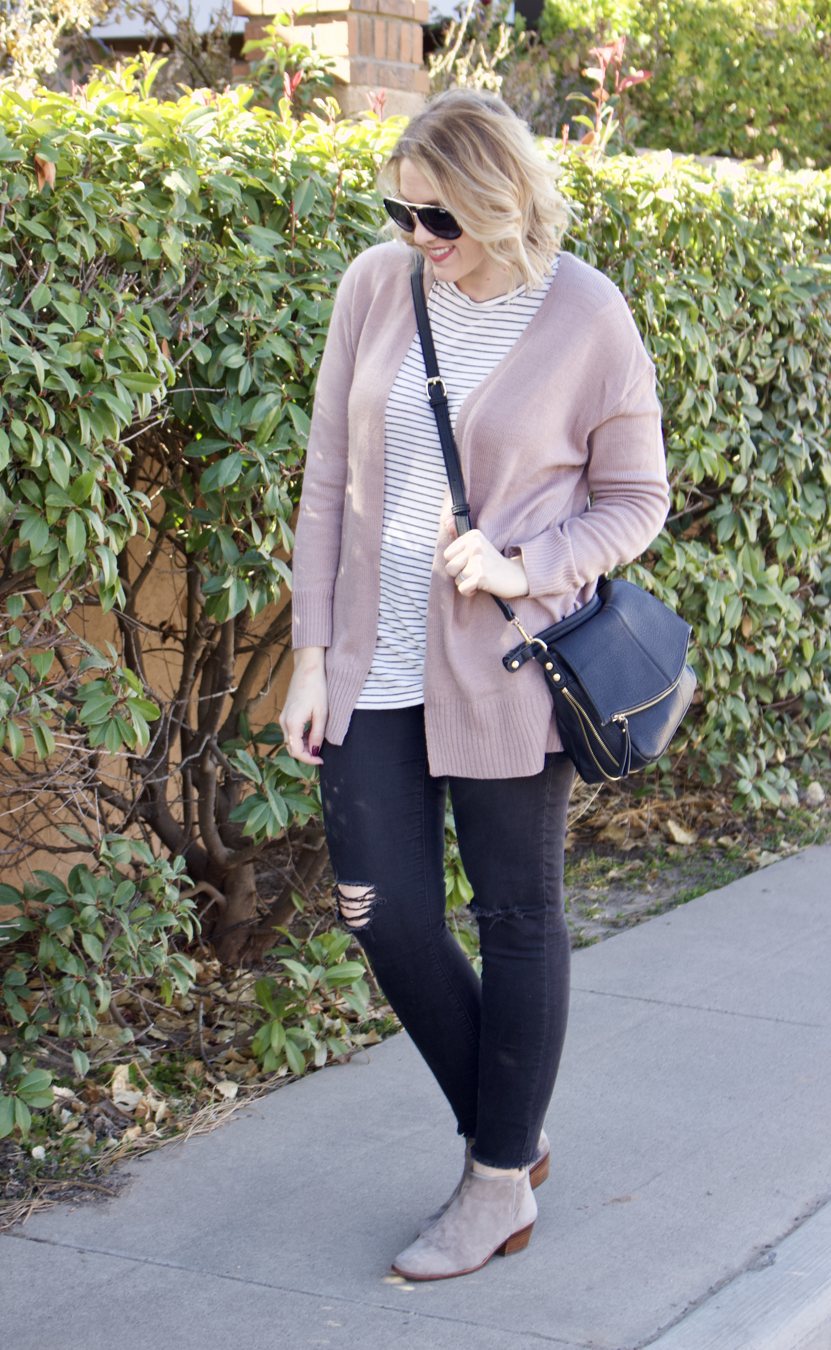 casual winter layers curvy fashion #curvyfashion #oldnavystyle #winterlayers