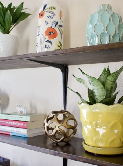 Affordable DIY Shelves for Under $75