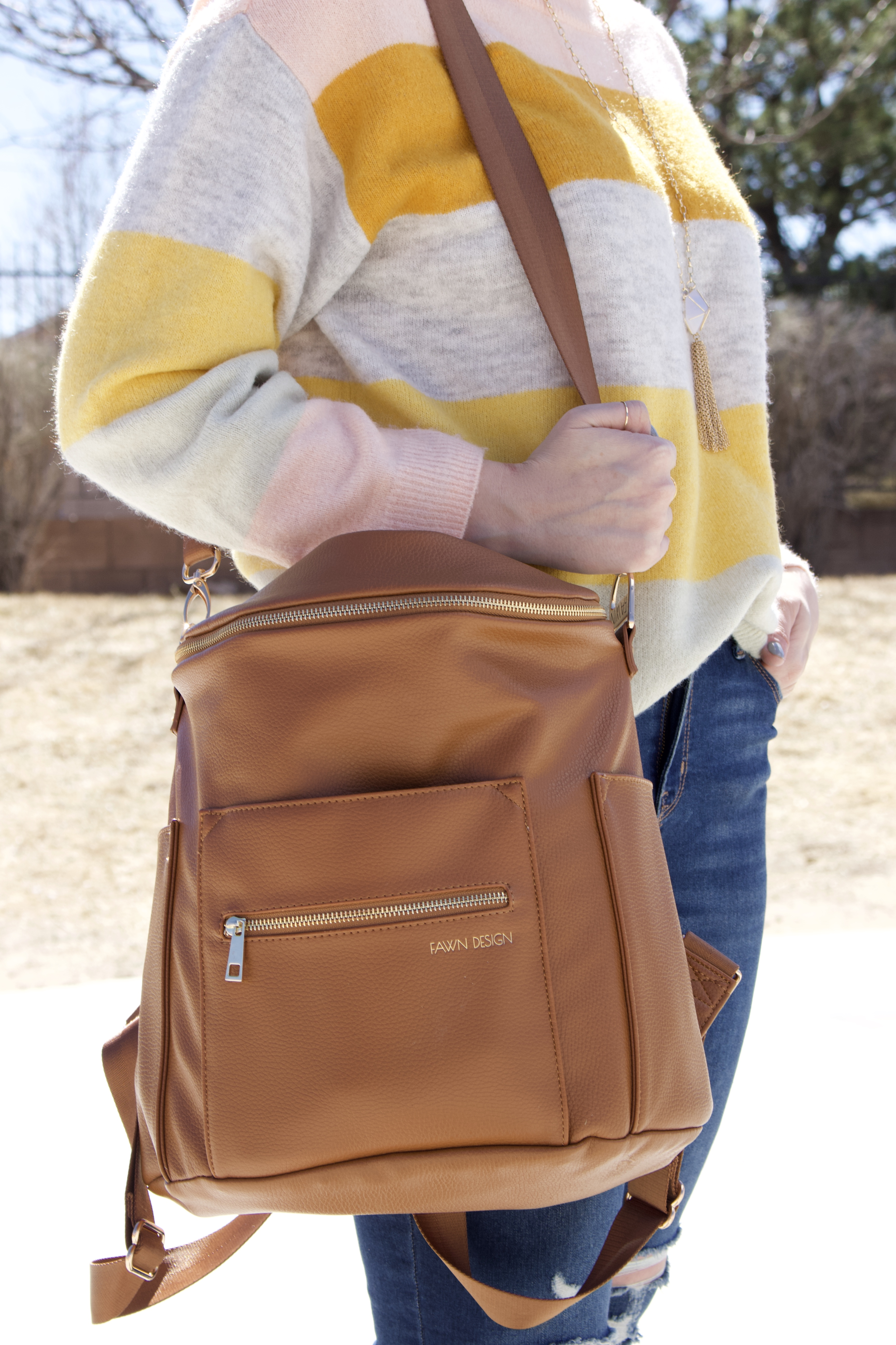 Fawn Design diaper bag #fawndesign #momstyle