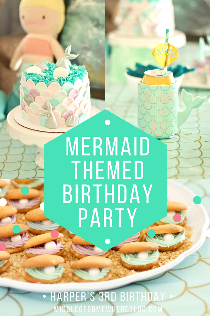 mermaid themed birthday party #mermaidparty #birthdayparty #mermaidbirthday #kidsbirthday