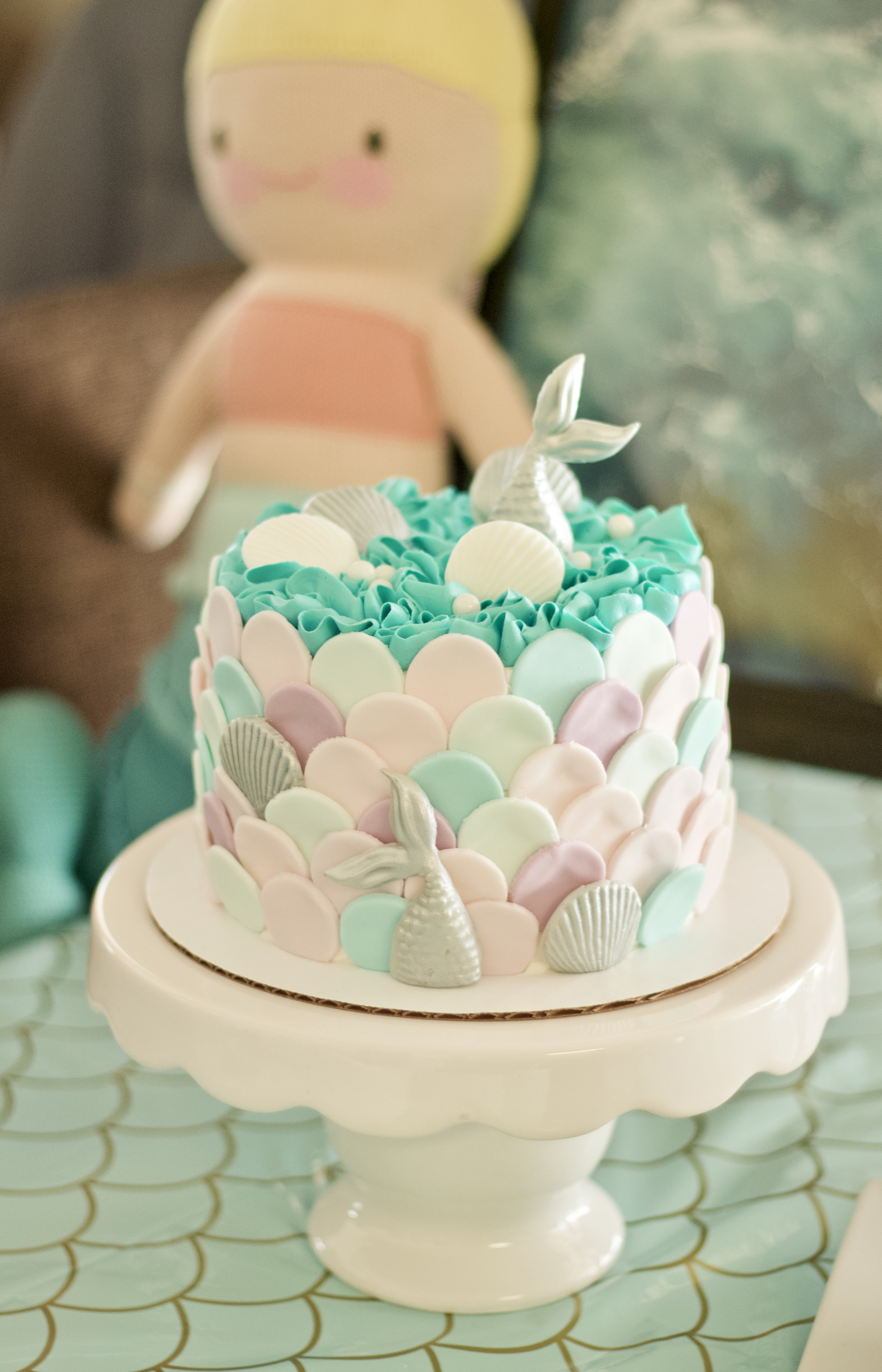 mermaid birthday cake for kids #birthdaycake #mermaidcake #mermaidparty #mermaidbirthdaycake