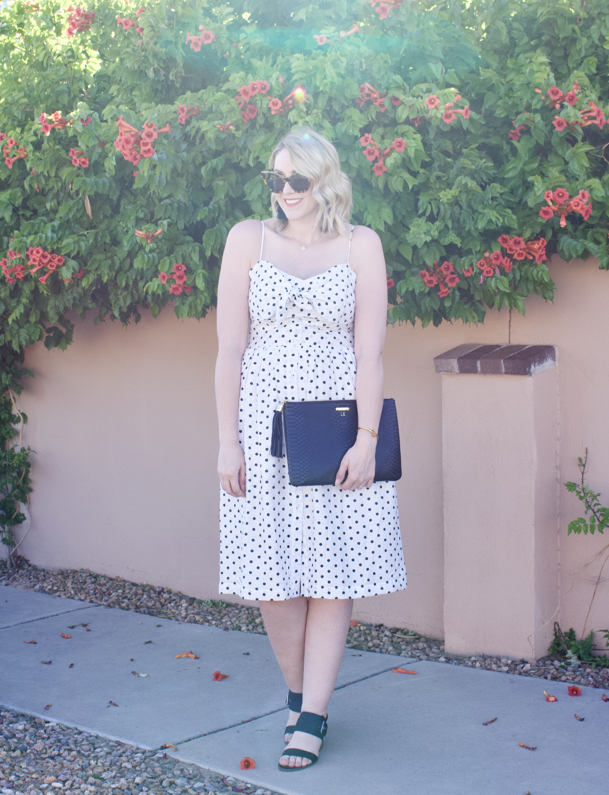 polka dot midi dress target #polkadots #summerstyle #mididress
