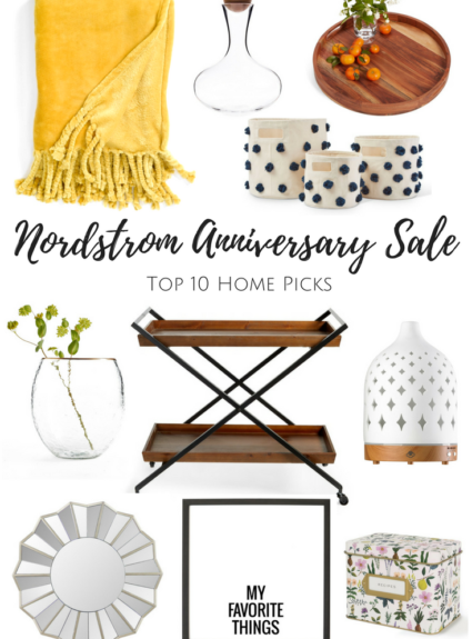 Nordstrom Anniversary Sale Home Picks + Giveaway!