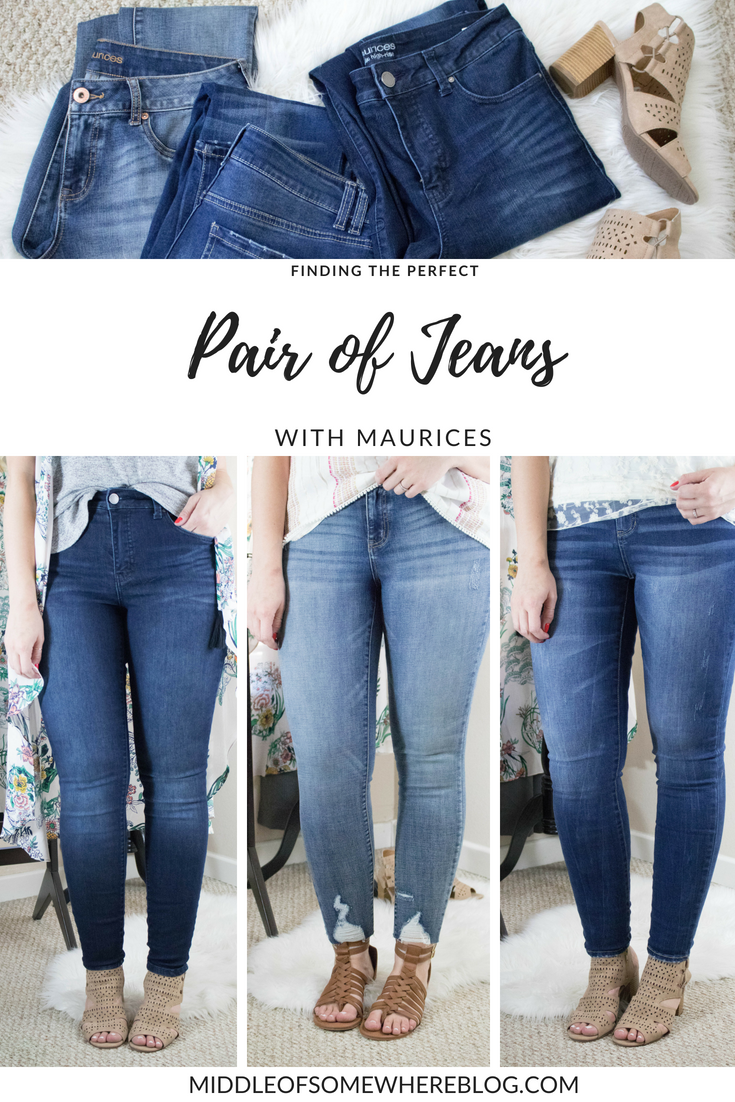 finding the perfect pair of jeans with maurices