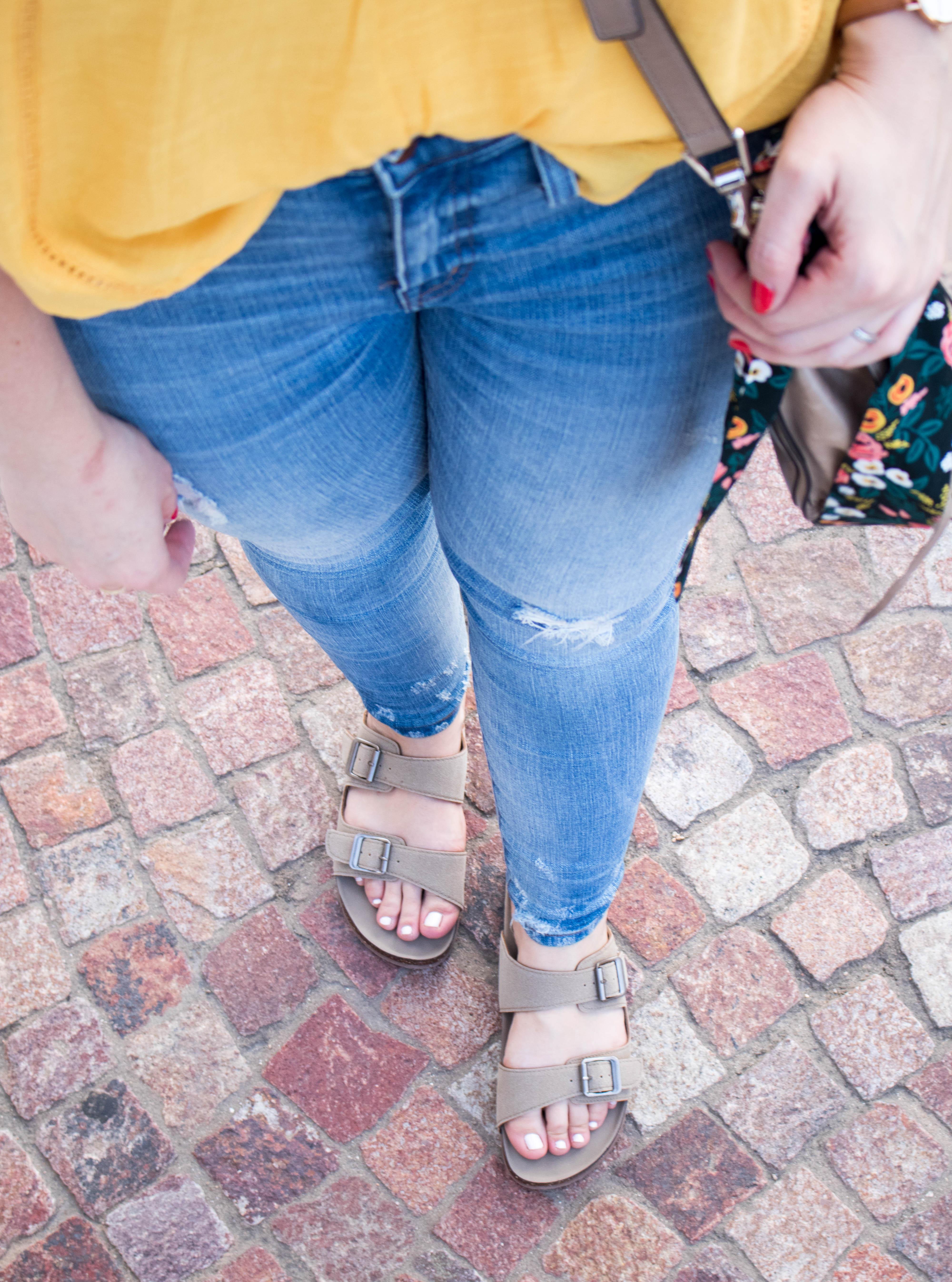 madden nyc birkenstock sandals #sandals #maddennyckohls #kohls