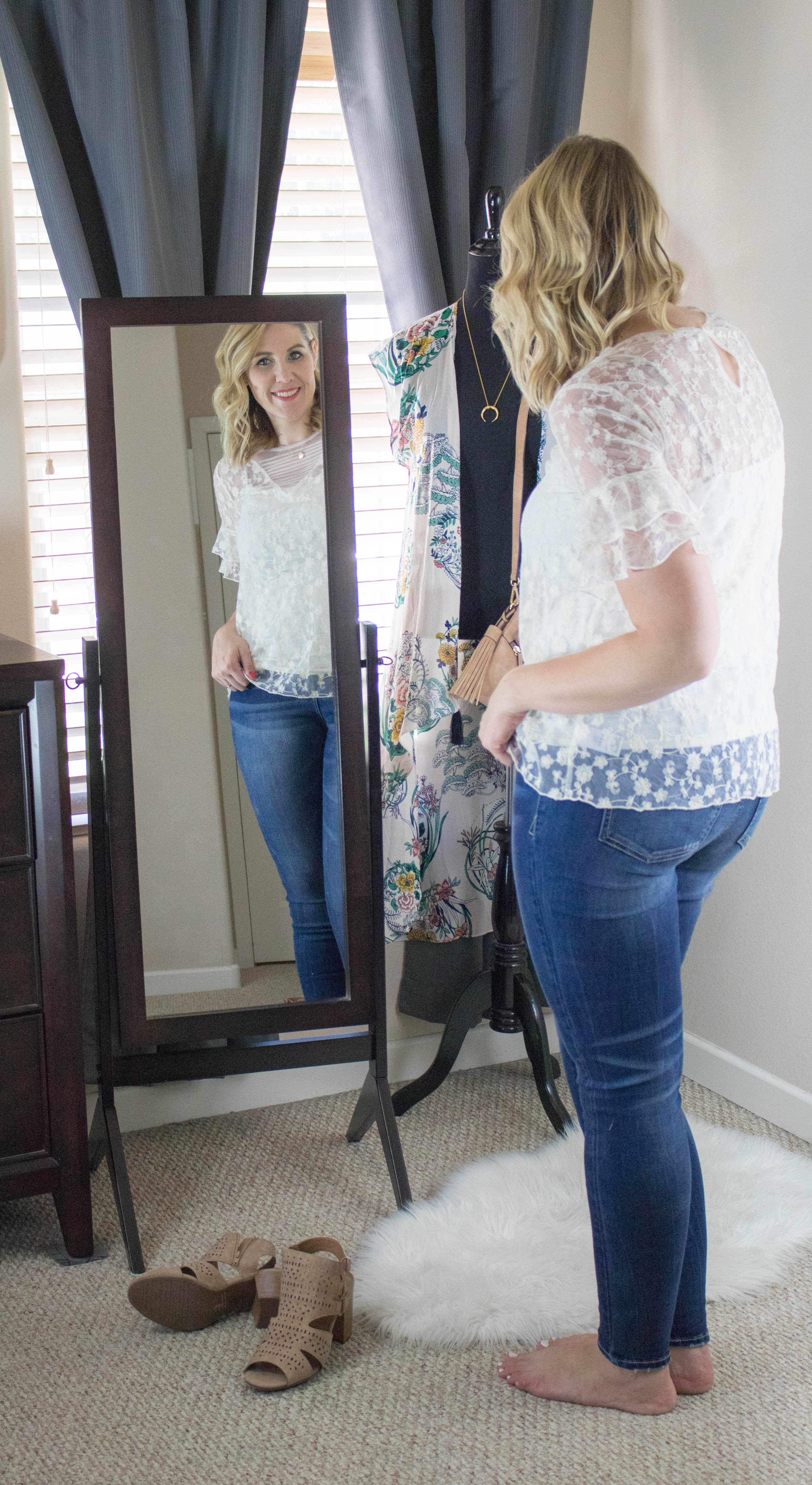 date night style with jeans #datenight #styleblogger #fashion #jeans