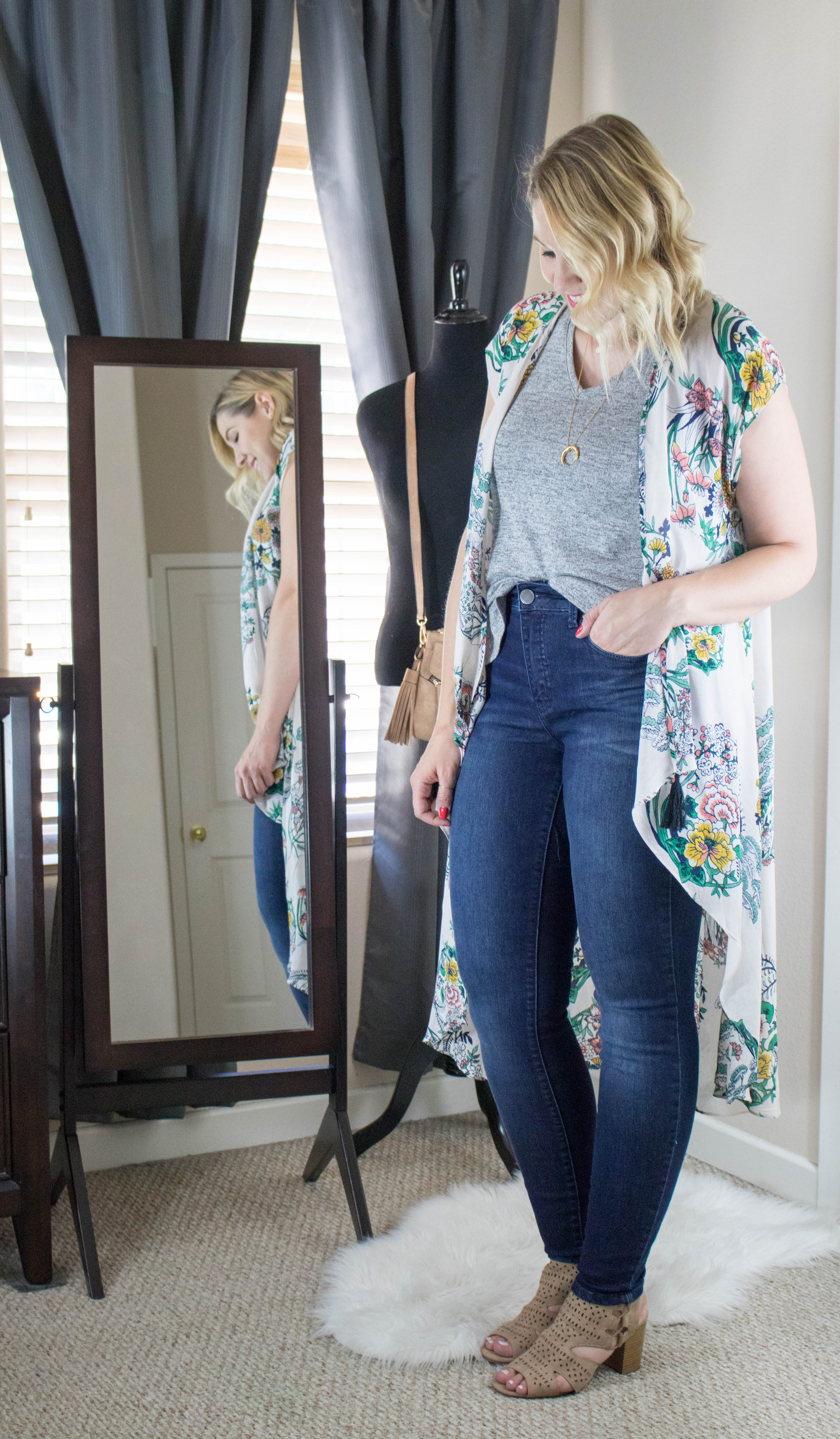 best high rise jeans from maurices #jeans #denim #skinnyjeans #styleblogger