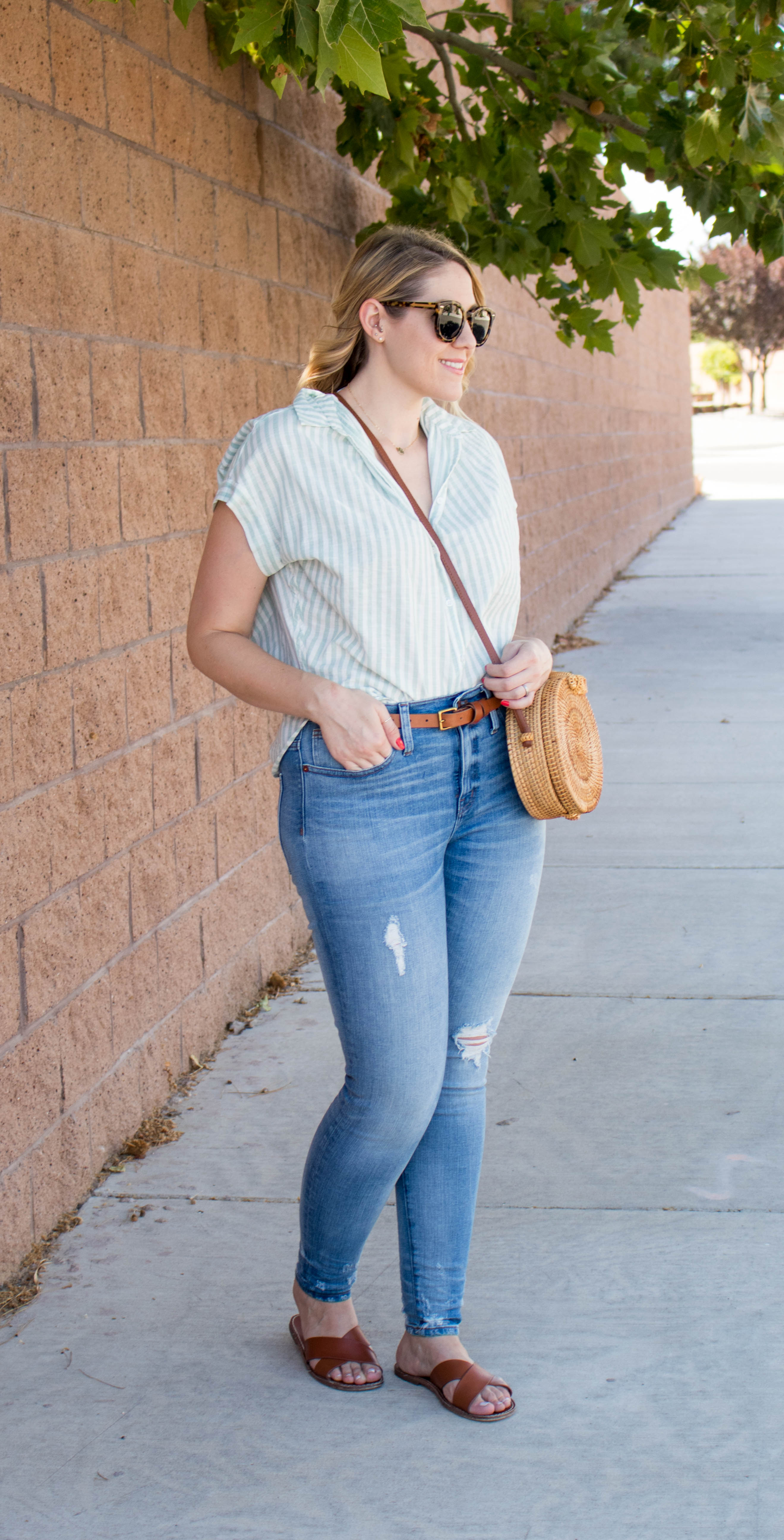madewell high rise skinny jeans #madewell #everydaymadewell #jeans #denim