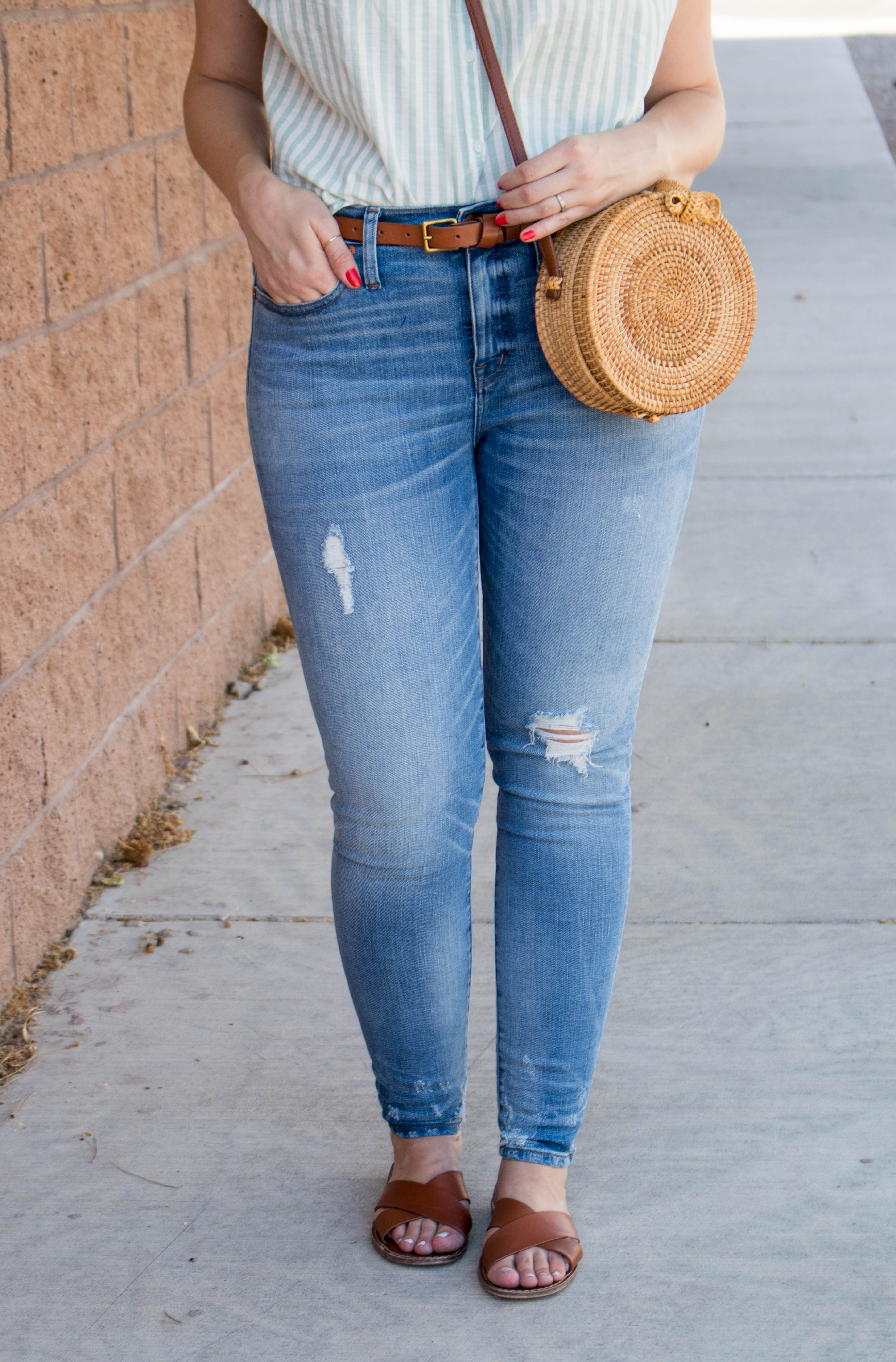madewell high rise skinny jeans #madewelljeans #madewell #denim #skinnyjeans
