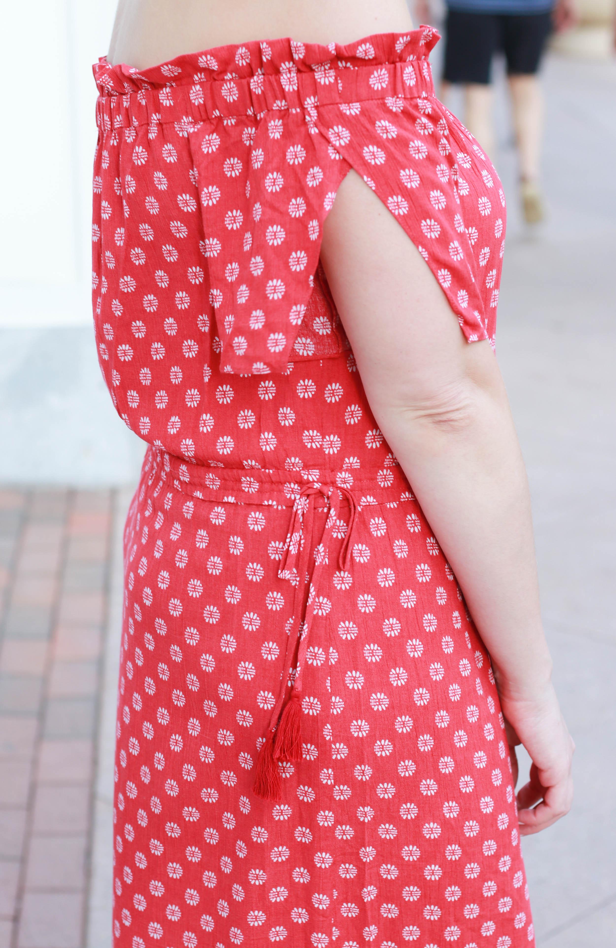 tassel floral maxi dress #tassel #maxidress #outfitdetails