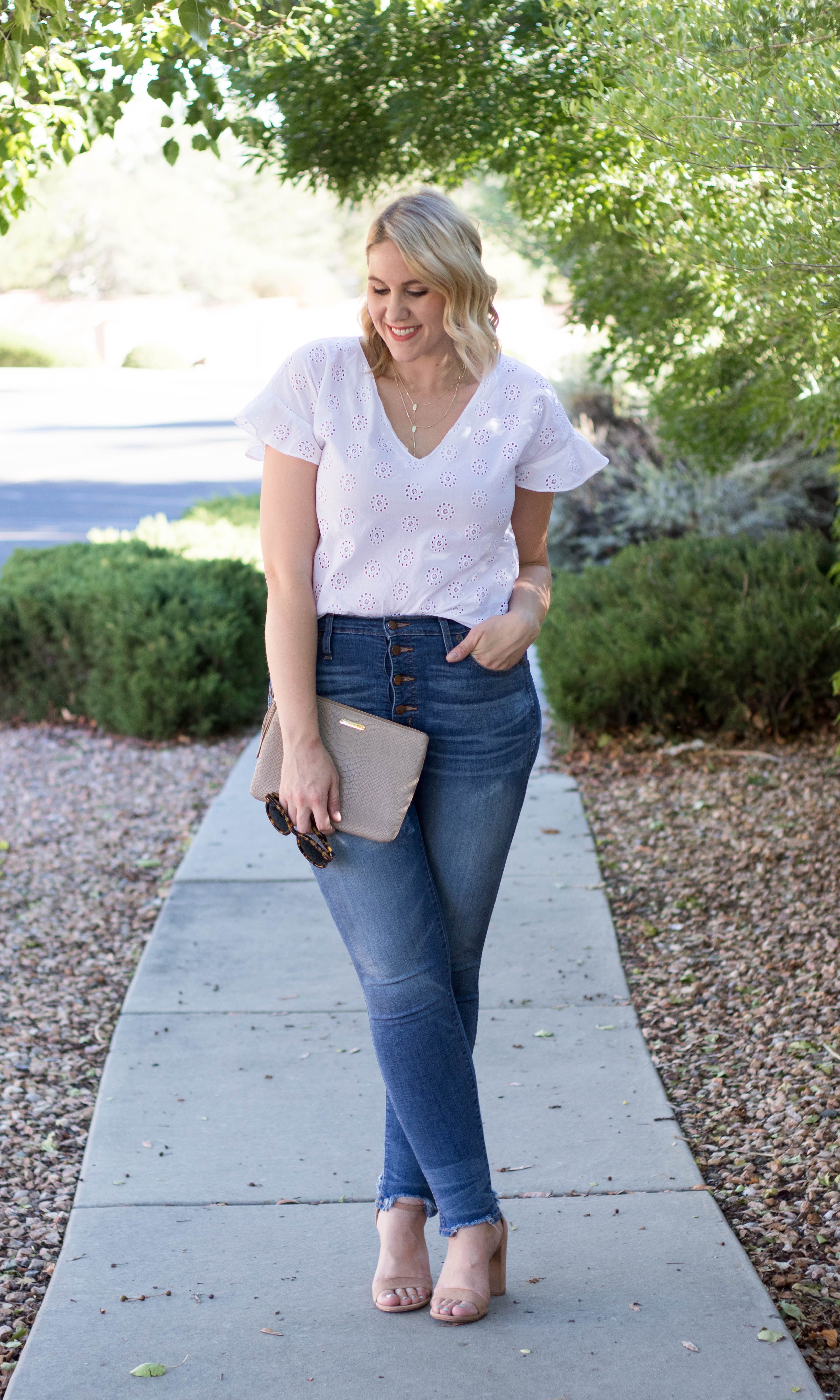 summer date night style #summerfashion #datenightstyle #madewelloutfit #madewelljeans