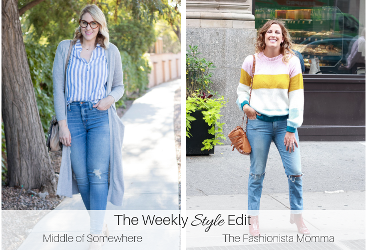 the weekly style edit stripes