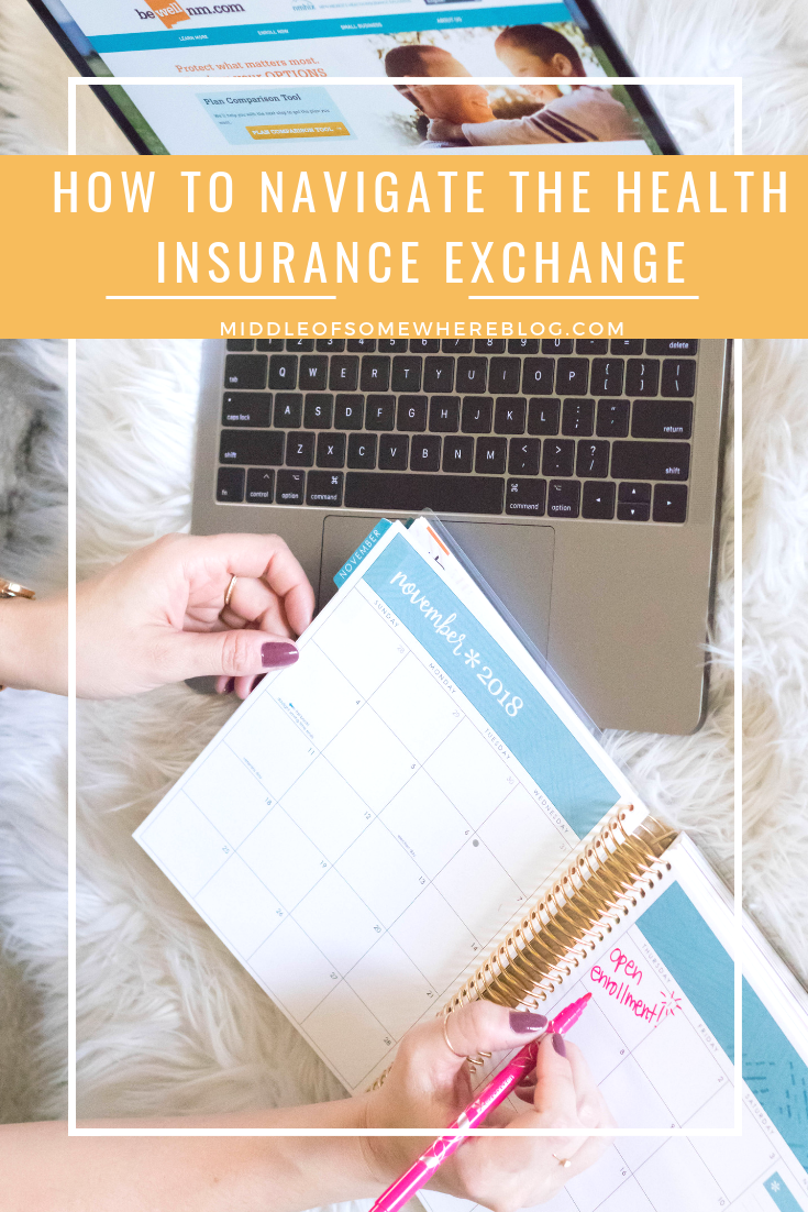 how to navigate the health insurance exchange #ad #bewellnm