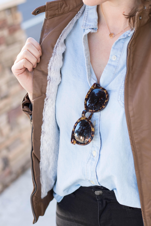 Karen walker super duper sunglasses #karenwalker #sunglasses #outfitdetails