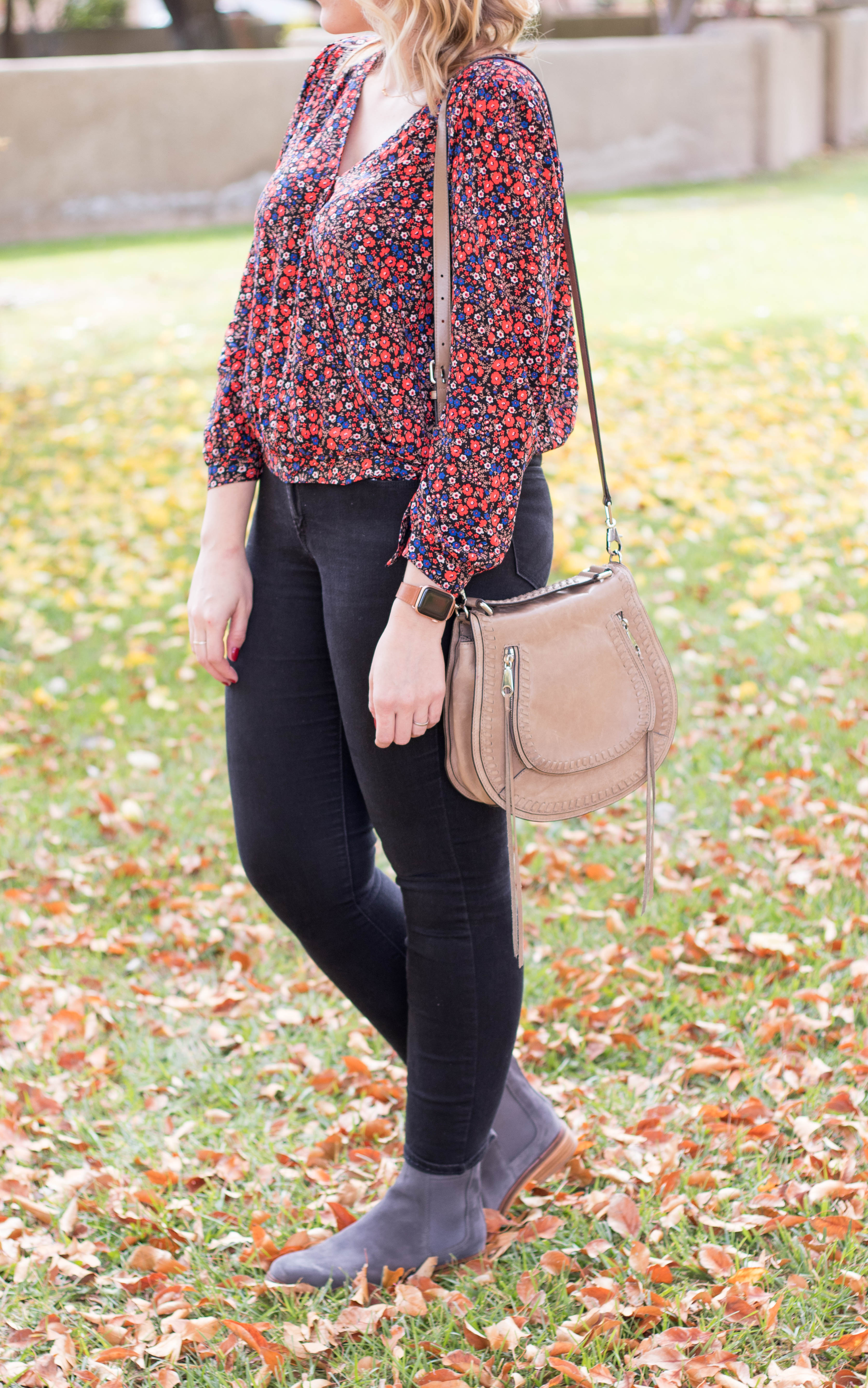 casual fall outfit #fallstyle #falloutfit #ankleboots #tallfashion