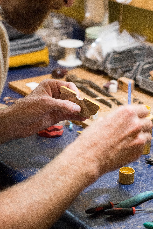 handmade wooden jewelry Danny hart #newmexico #albuquerque