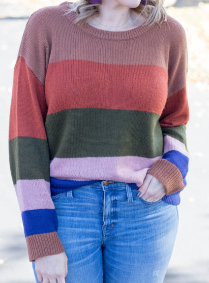 Striped Cozy Sweater: The Weekly Style Edit