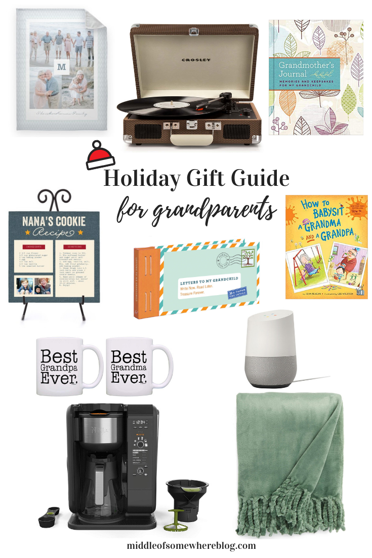 gift guide for grandparents 2018 #giftguide #holidaygifts #giftideas