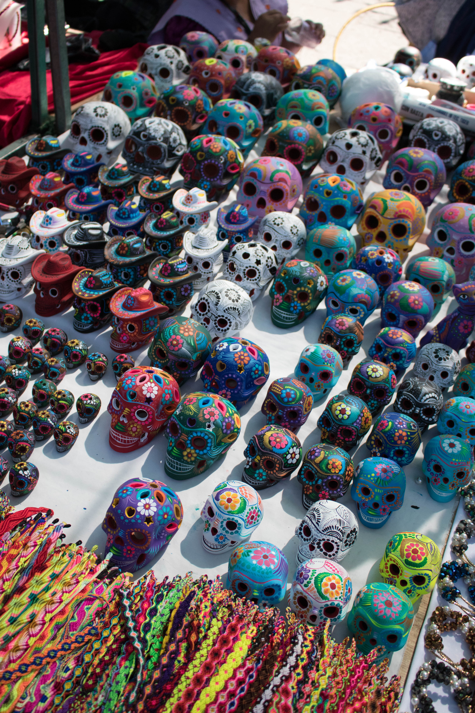 sugar skulls in Guadalajara #sugarskulls #mexico #visitmexico