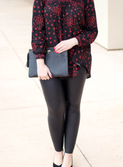 Leather Leggings & Free People Tunic: The Weekly Style Edit