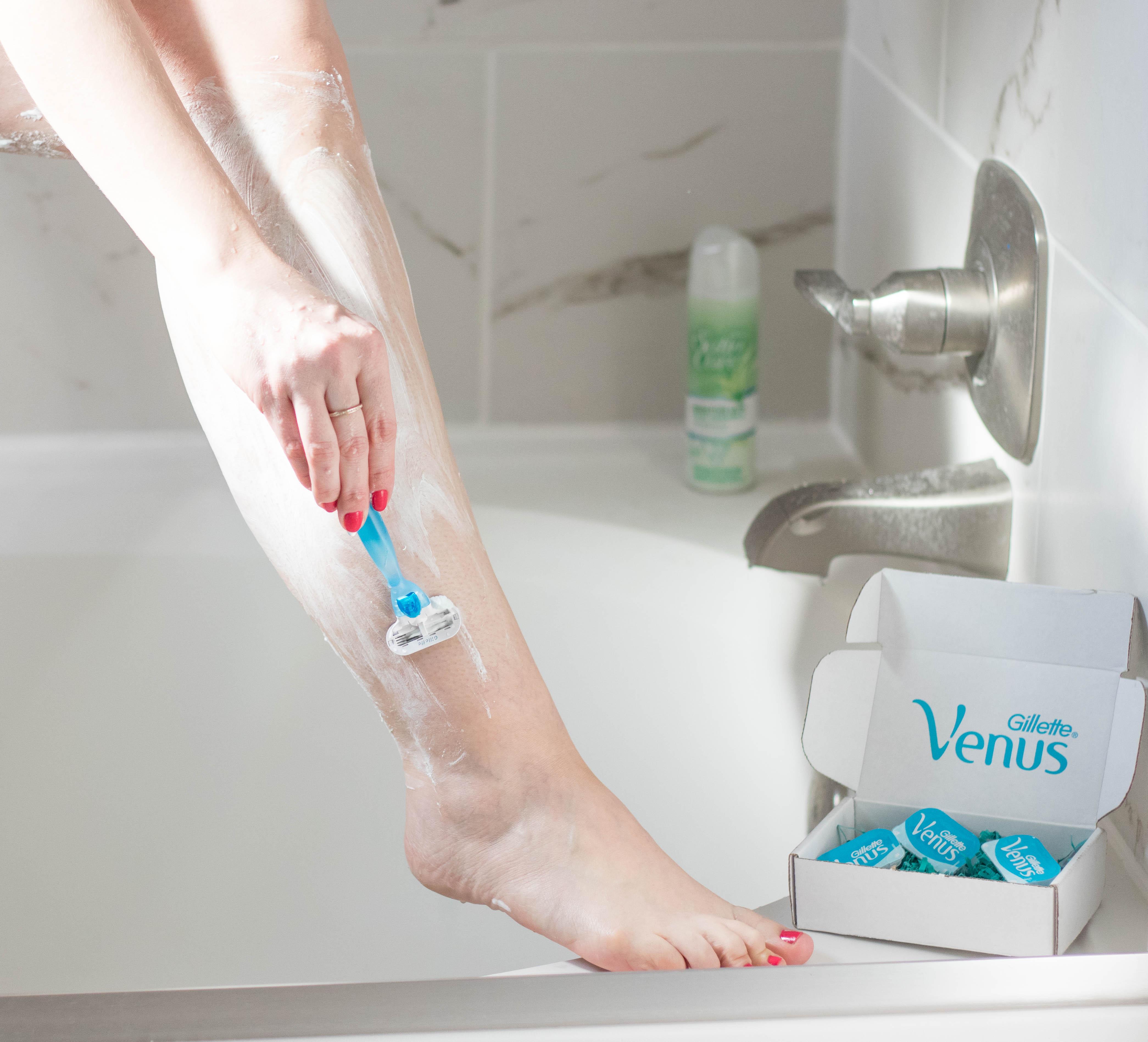 gilette's venus direct shave club #gilette #skincare #venusrazor